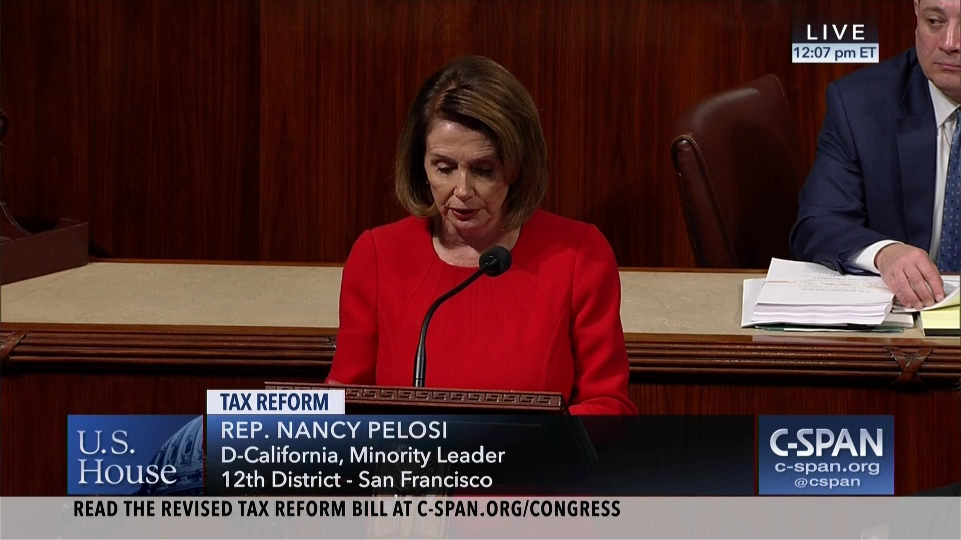 Nancy pelosi wants to put a windfall tax