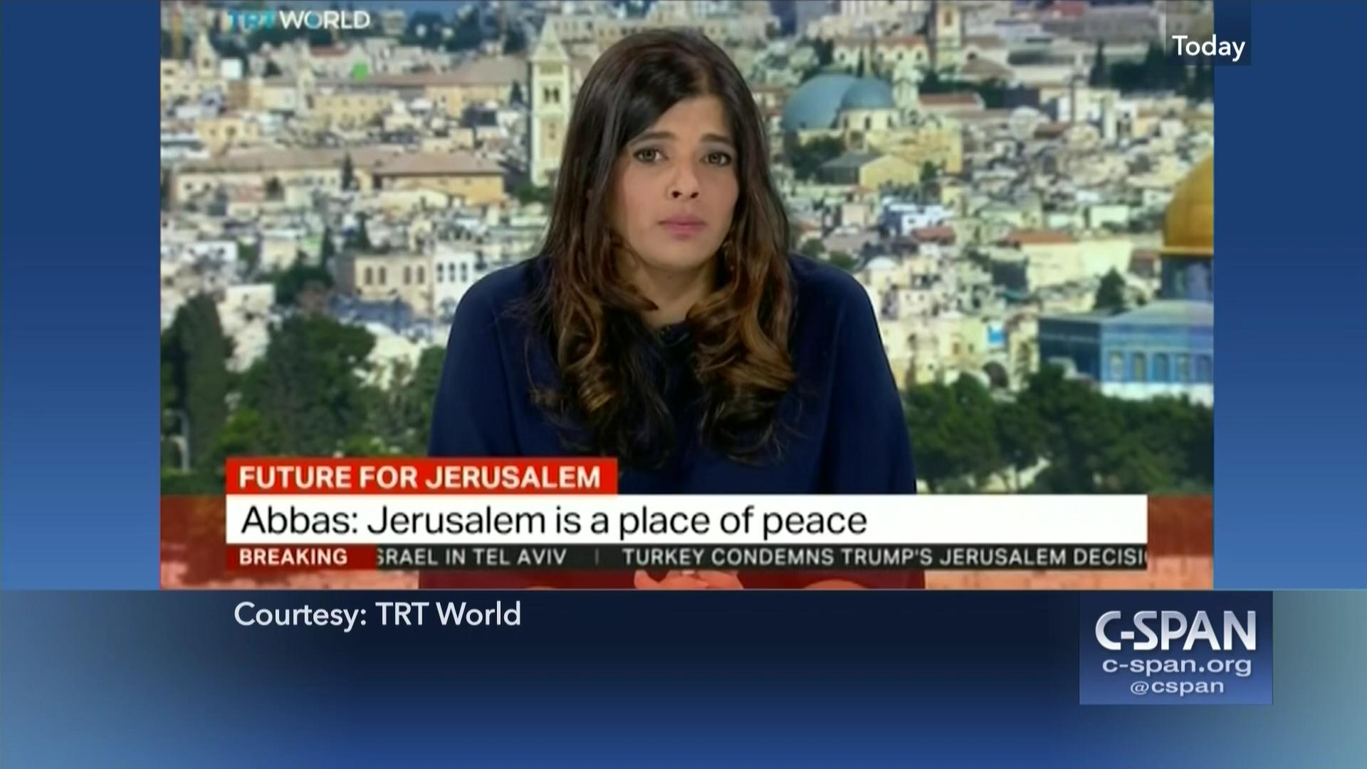World Coverage of President Trump Announcement on Jerusalem