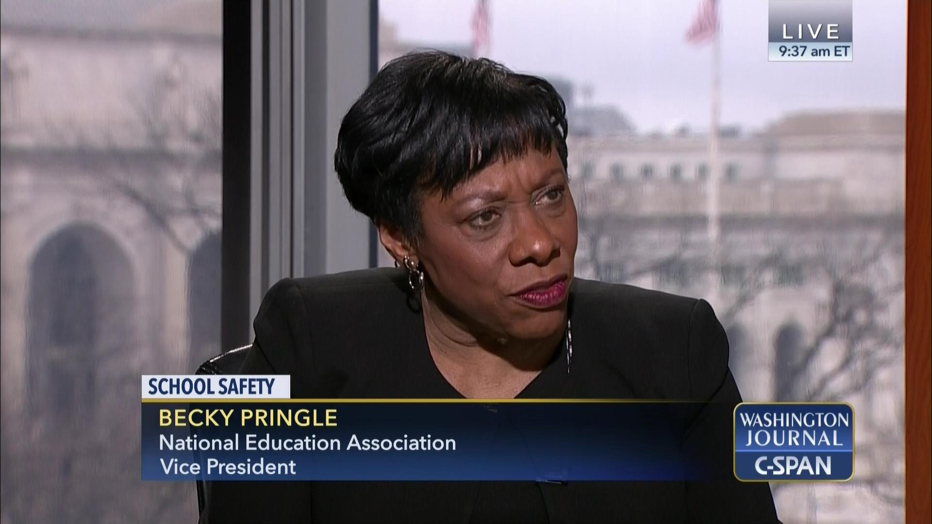 Becky Pringle on School Safety