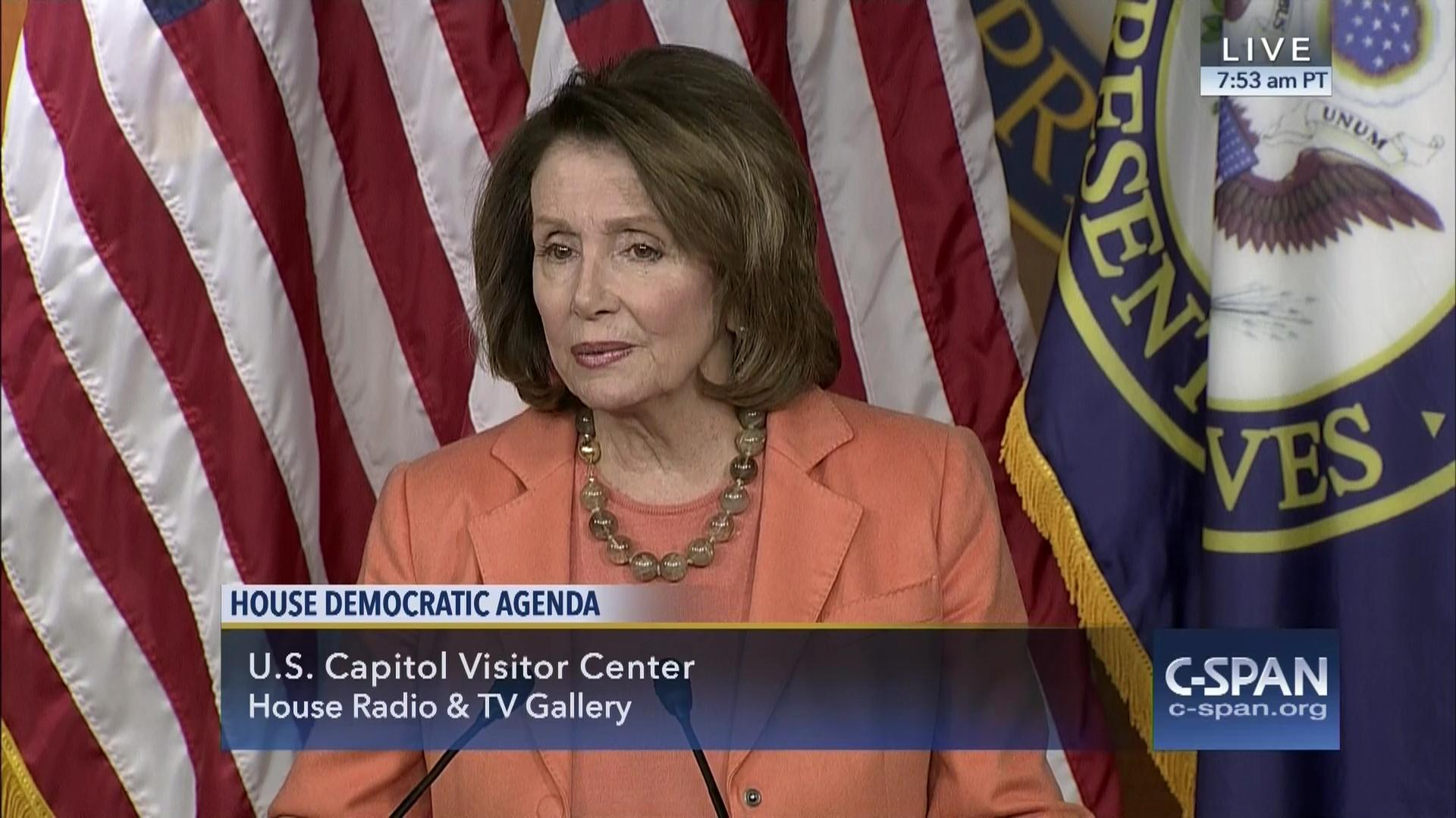 house minority leader nancy pelosi d-ca weekly briefing, sep 17
