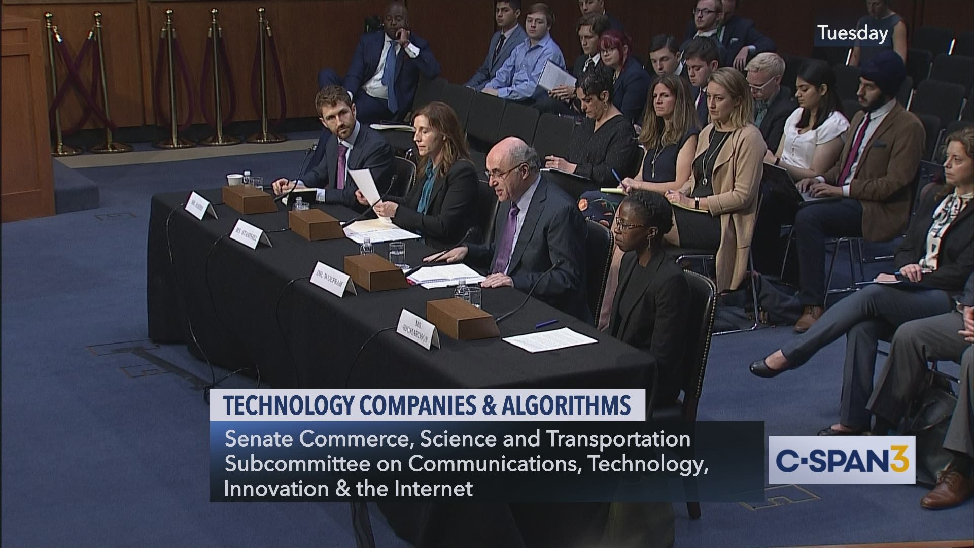 Technology Companies And Algorithms C Span Org