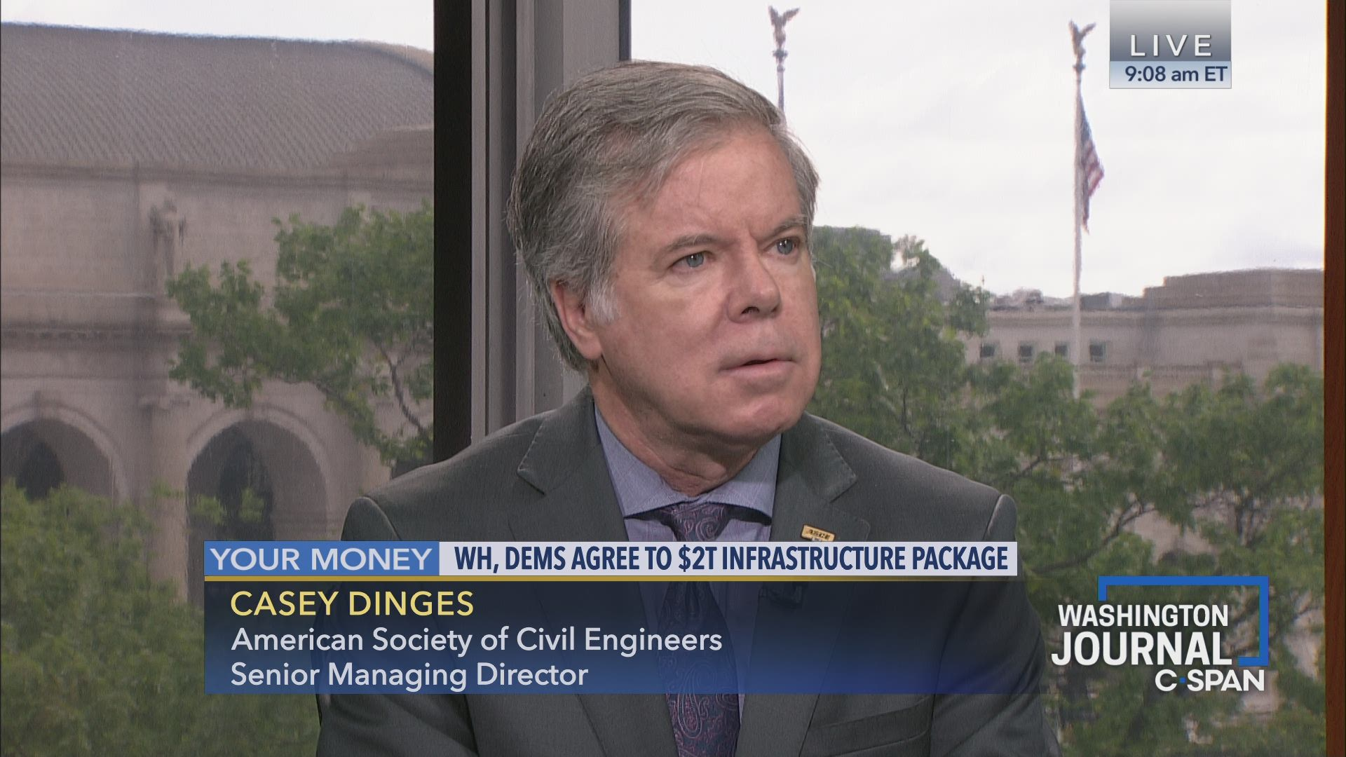 Casey Dinges on Infrastructure Priorities and Funding