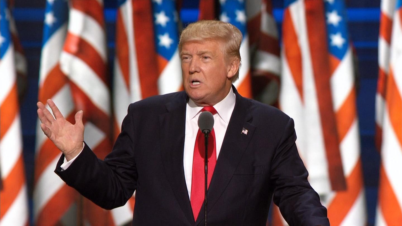 9d9625c6e31854 Donald Trump Addresses Republican National Convention