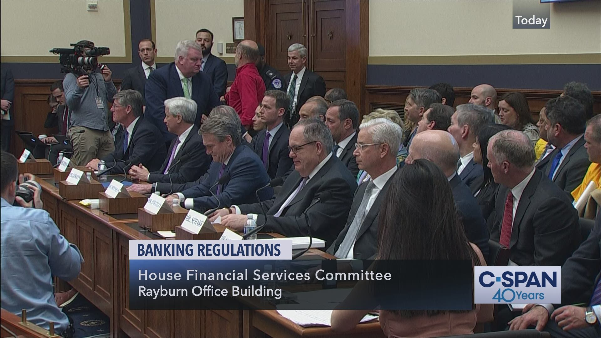 House Financial Services Committee Hearing on Banking Regulations