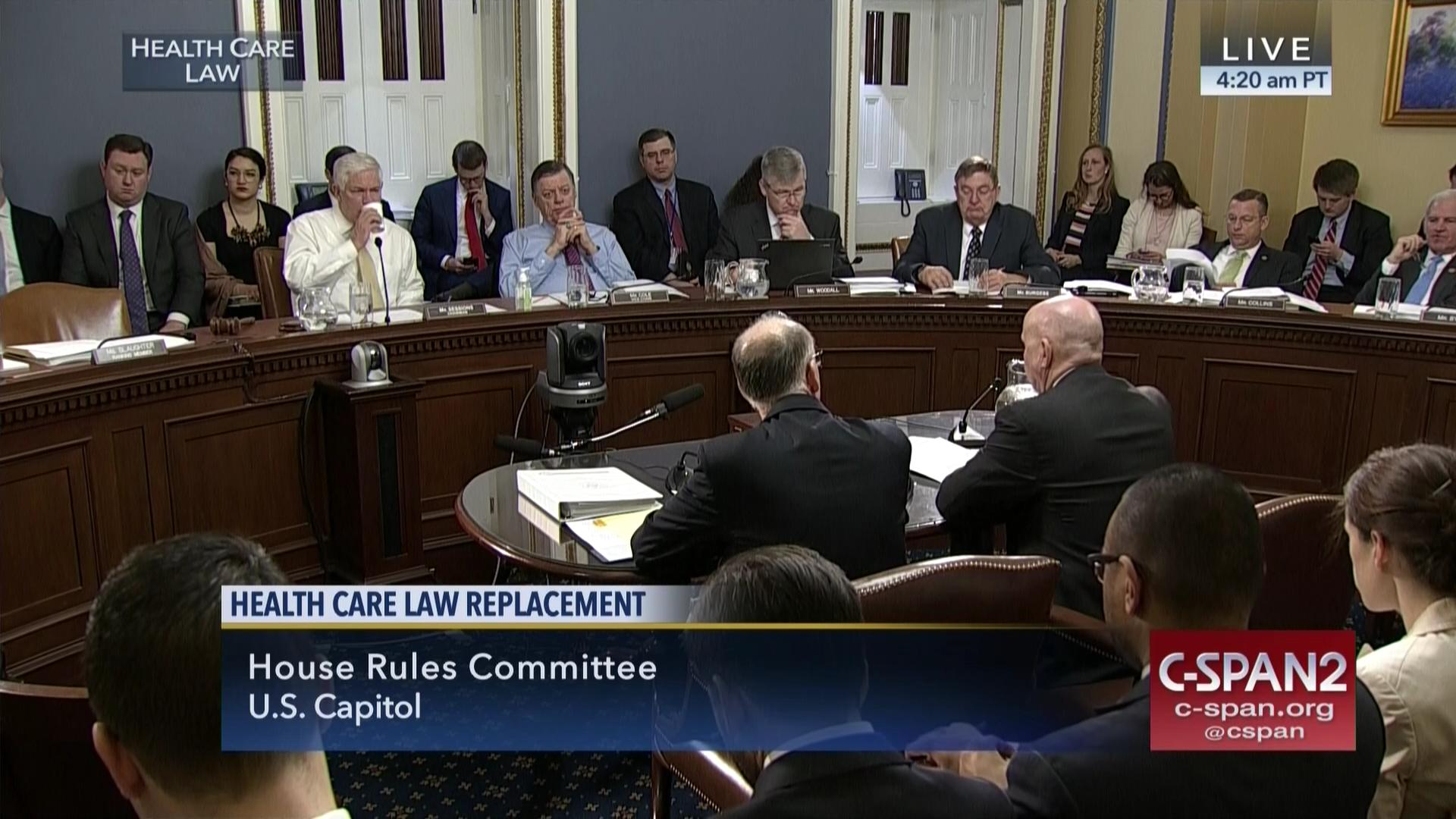 Good House Rules Committee Meeting On Health Care Bill