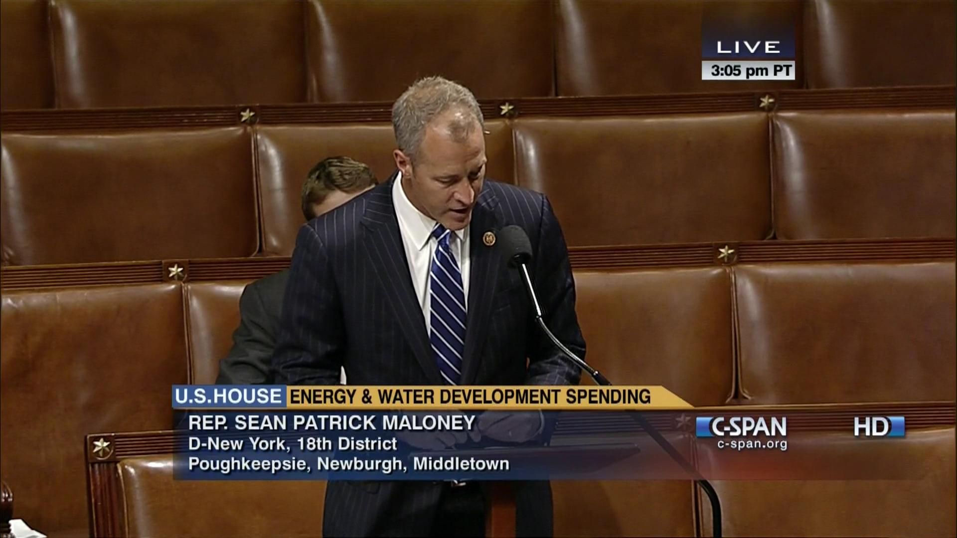 127427ff33e Maloney-Gibson Amendment to Energy and Water Appropriations