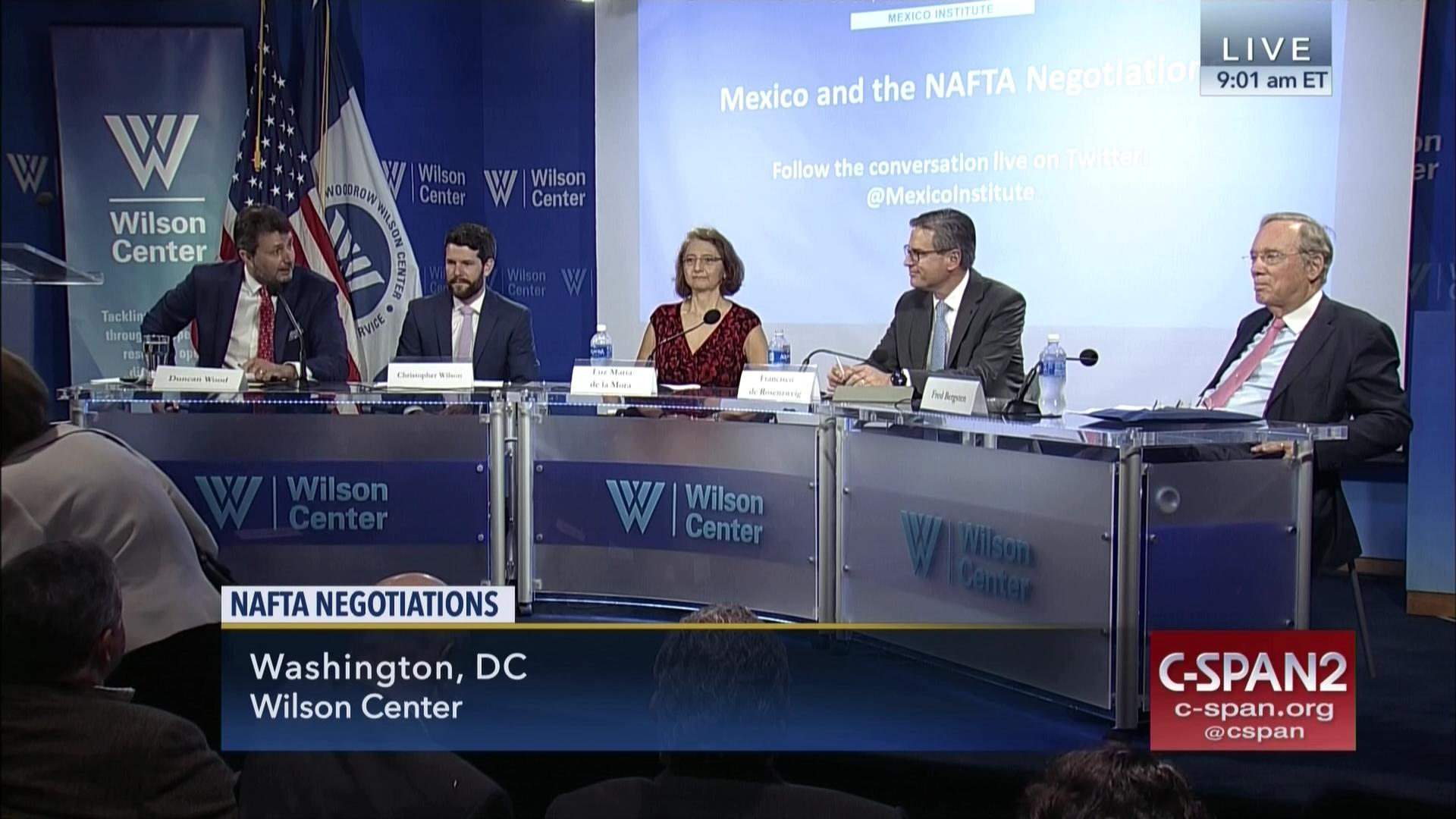 Panelists Discuss NAFTA Negotiations, Aug 15 2017 | Video | C-SPAN.org