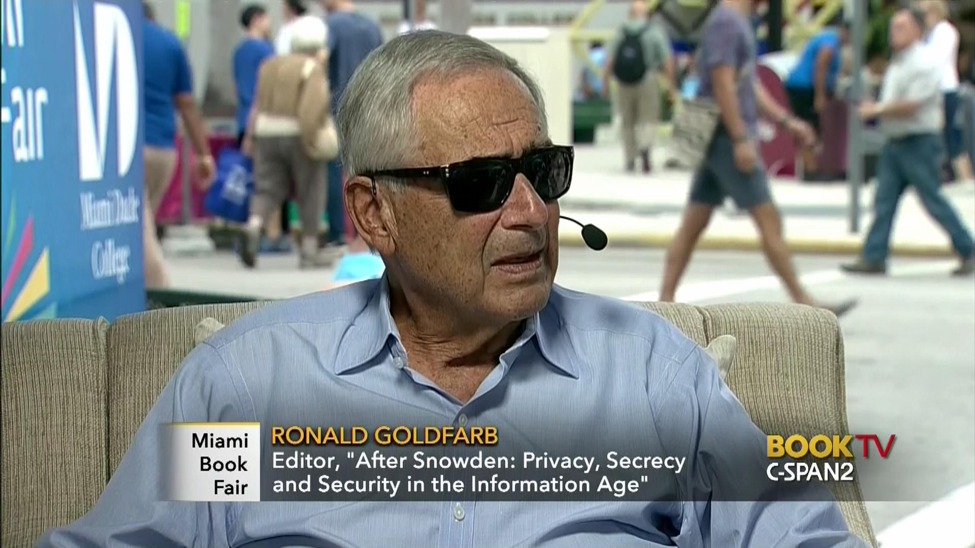 interview ronald goldfarb video c span org