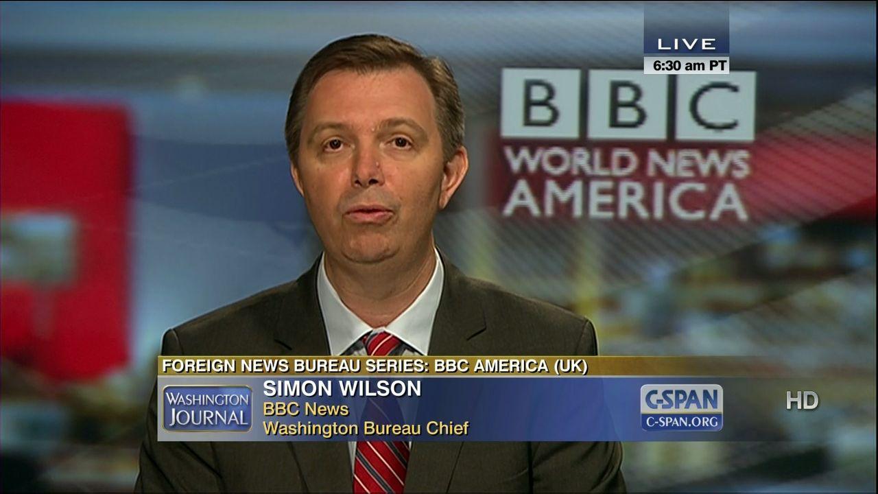 BBC World News America Foreign News Bureau, Jul 6 2012 | Video | C-SPAN.org