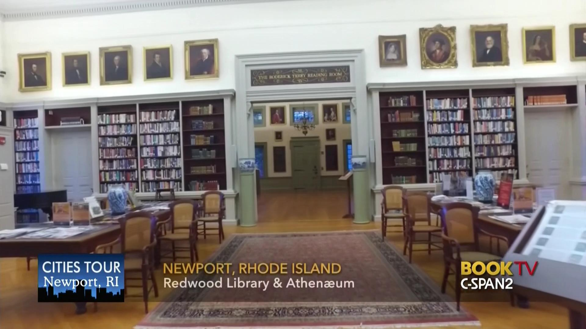 Redwood Library Athenum Special Collections Oct 23 2017 Video C