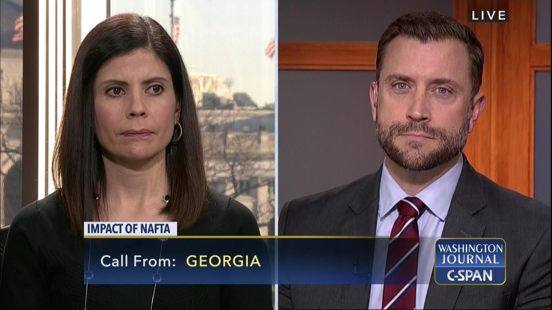 Washington Journal Impact Nafta Jan 27 2018 Video C Span