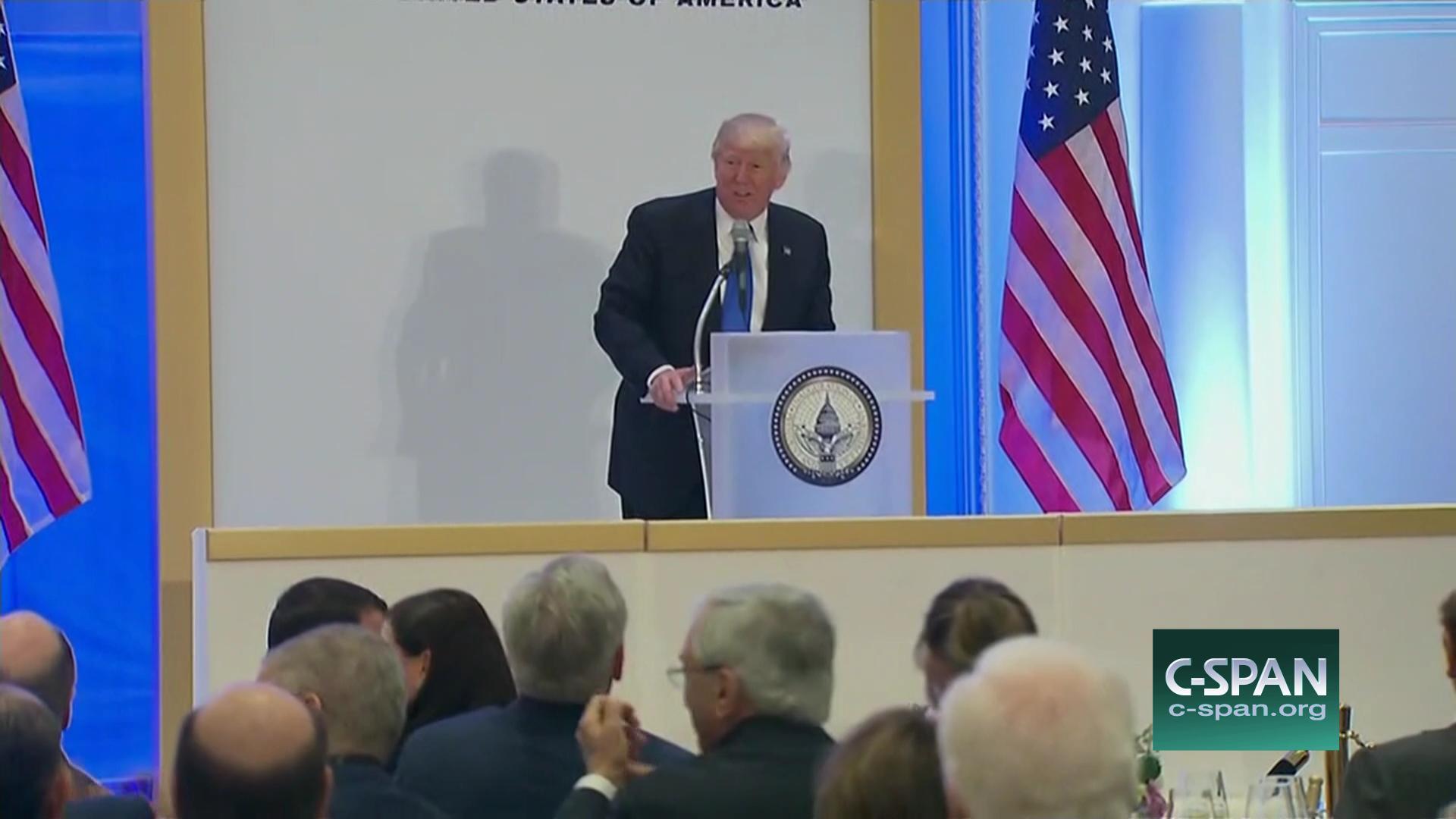 Presidentelect Donald Trump Luncheon At Trump International Hotel