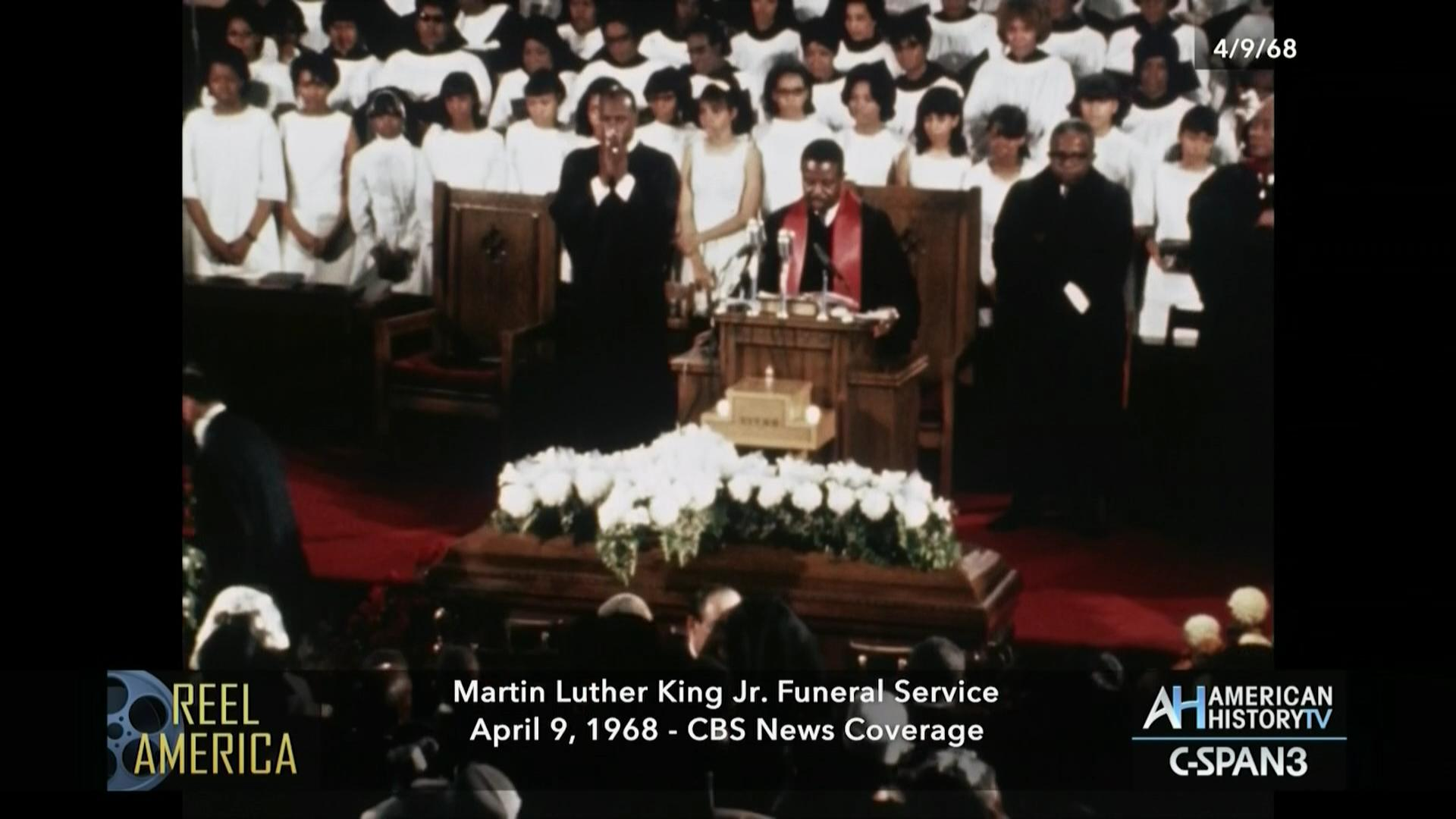 Martin Luther King Jr Funeral Services