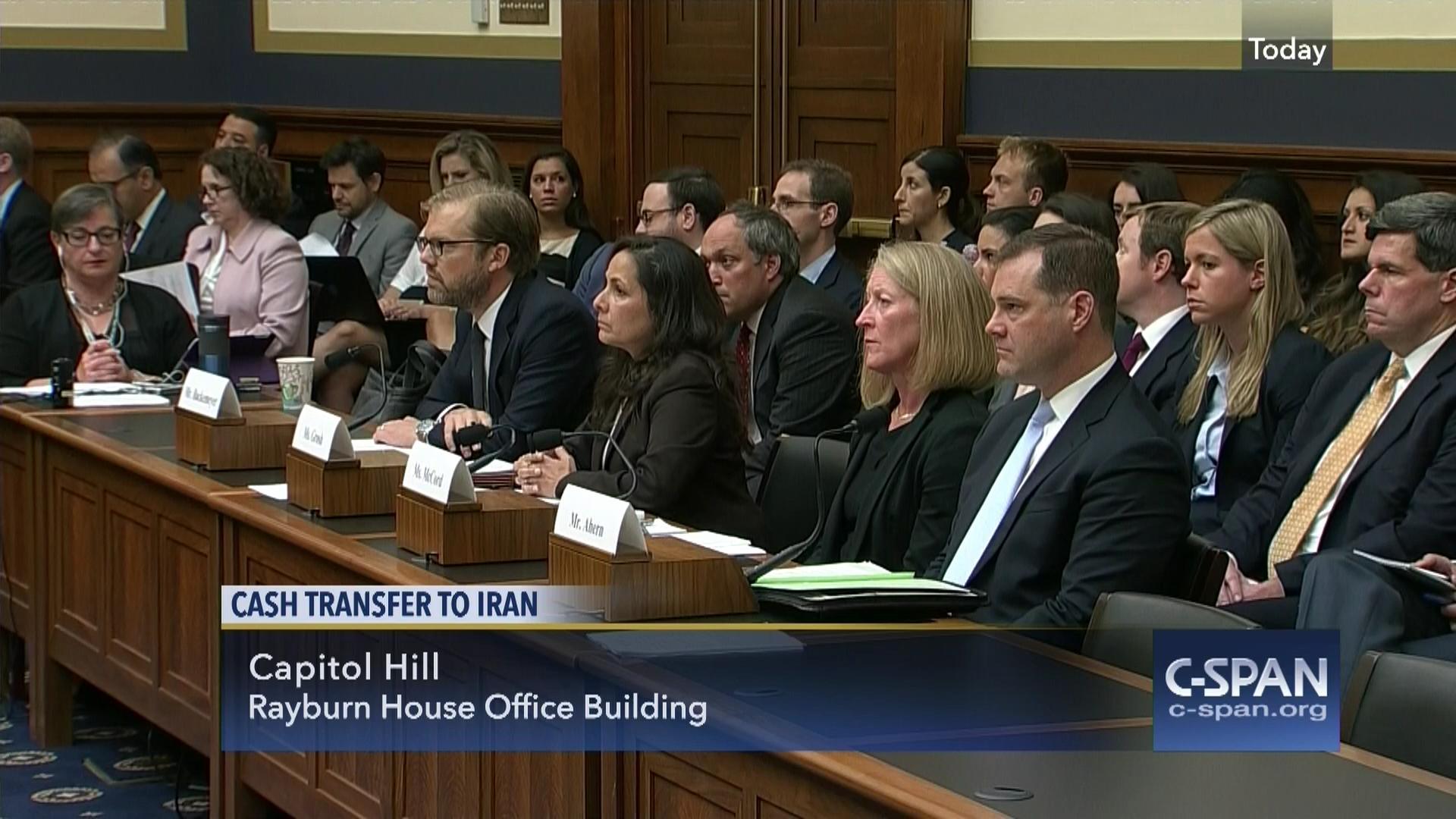 hearing focuses payments iran, sep 8 2016 | video | c-span