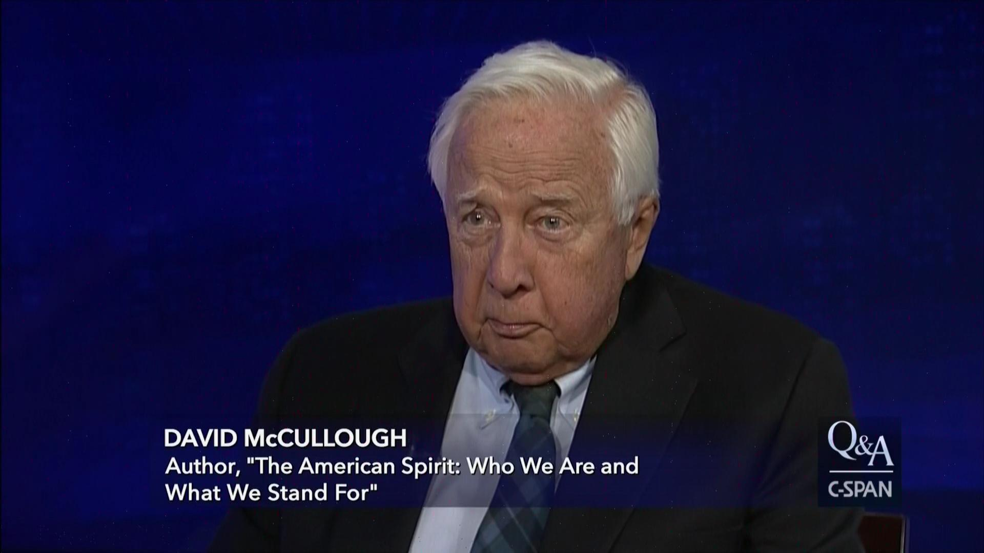 david mccullough political views