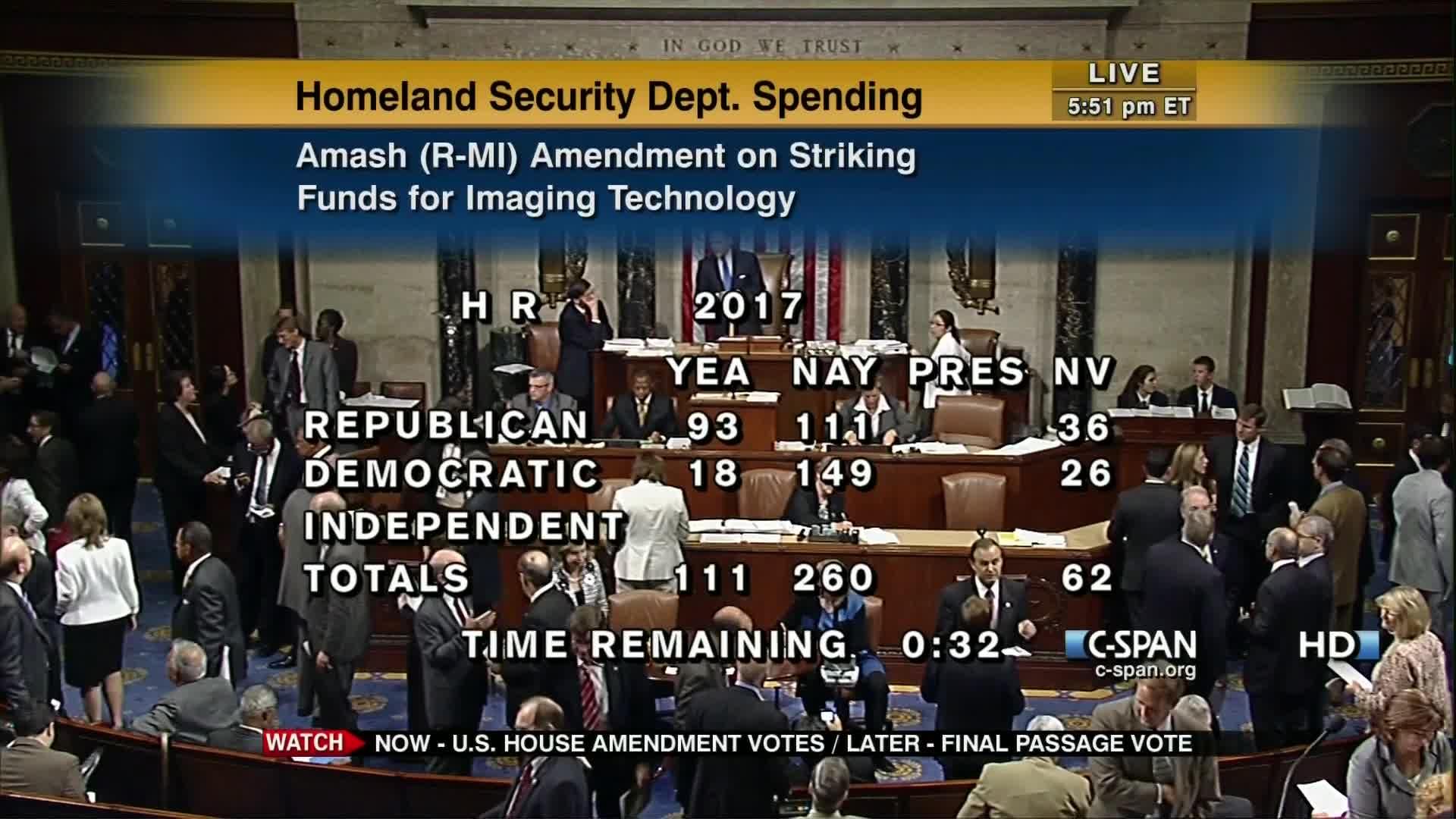 User Clip: House Vote 112-1-399 | C-SPAN org