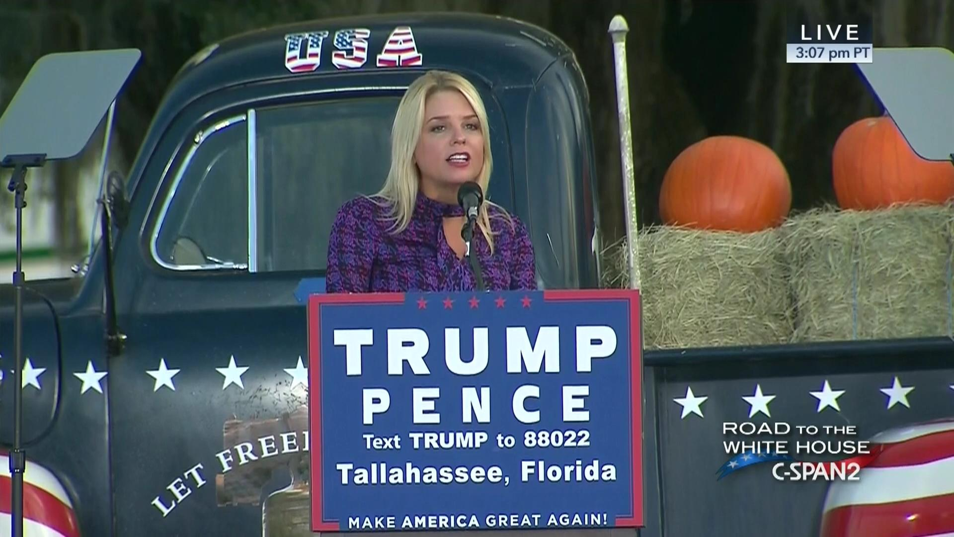DONALD TRUMP TALLAHASSEE RALLY EVENT TALLAHASSEE CAR MUSEUM FL 10-25-2016