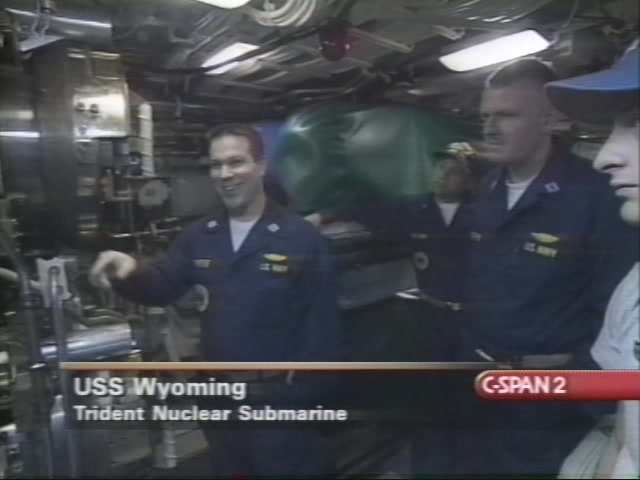 Aboard Boomer Uss Wyoming Nov 27 2000 Video C Spanorg