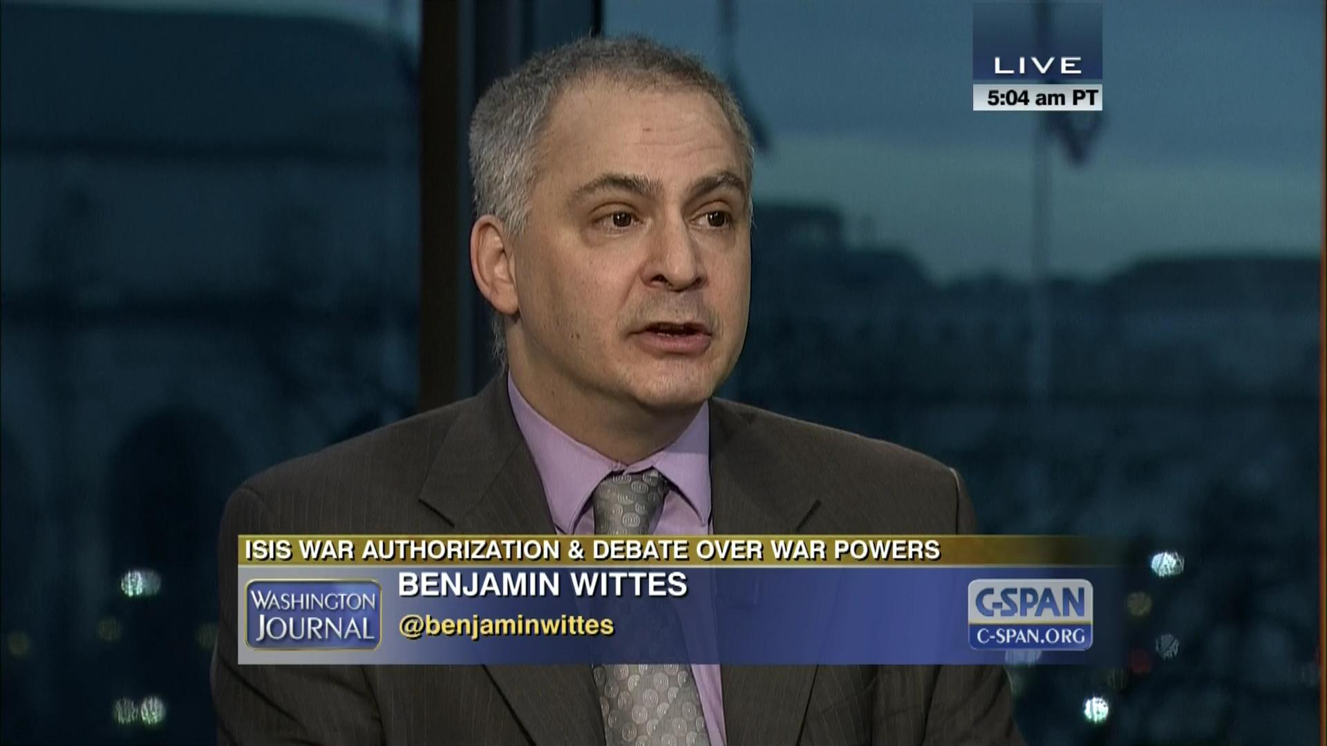 Image result for PHOTO OF BENJAMIN WITTES