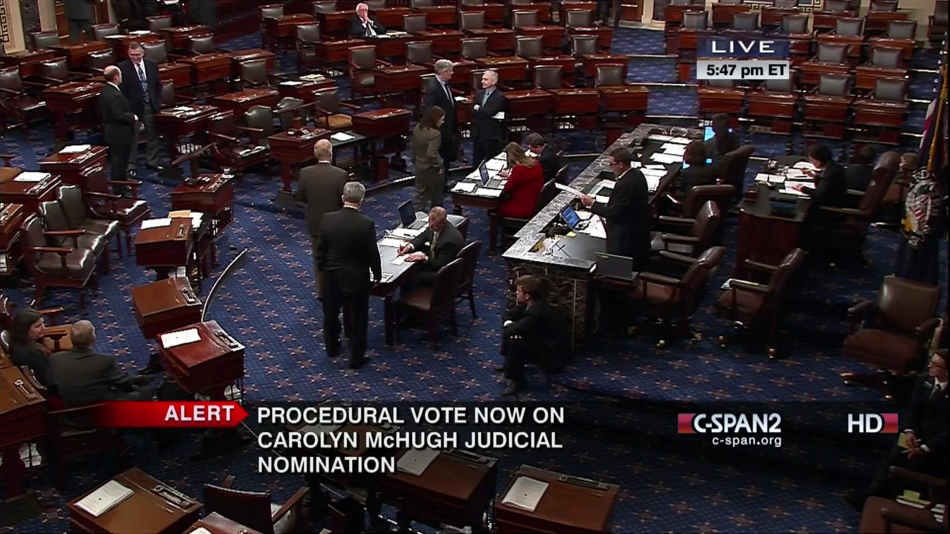 User Clip: Senate Vote 113-2-61 | C-SPAN org