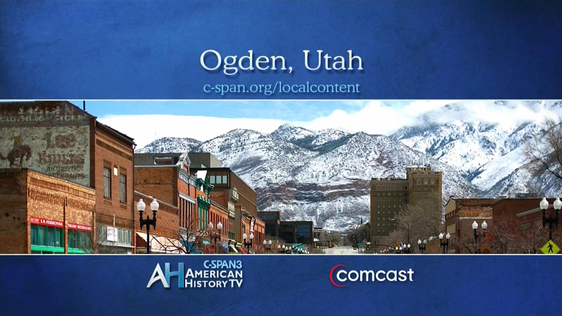 American History TV Ogden Utah May 4 Video