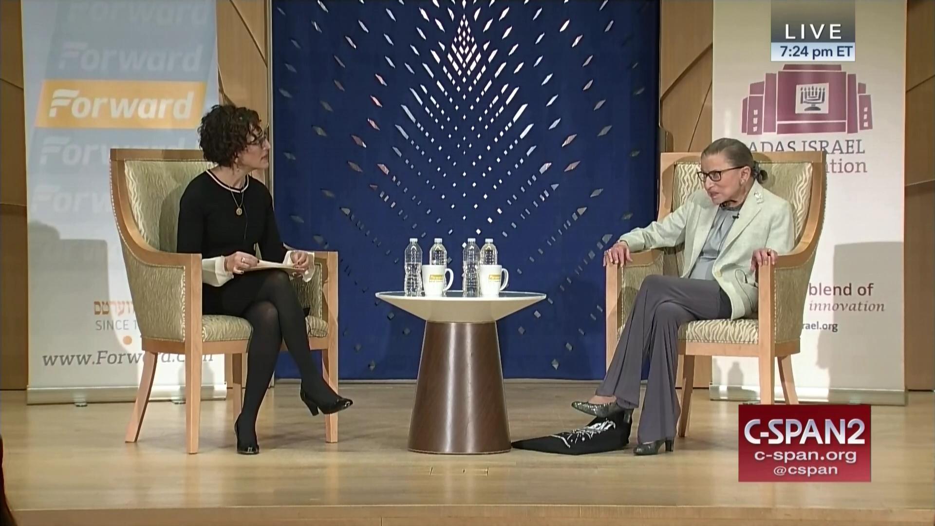 Justice Ginsburg Discusses Law Media Jewish Life Feb 1 2018