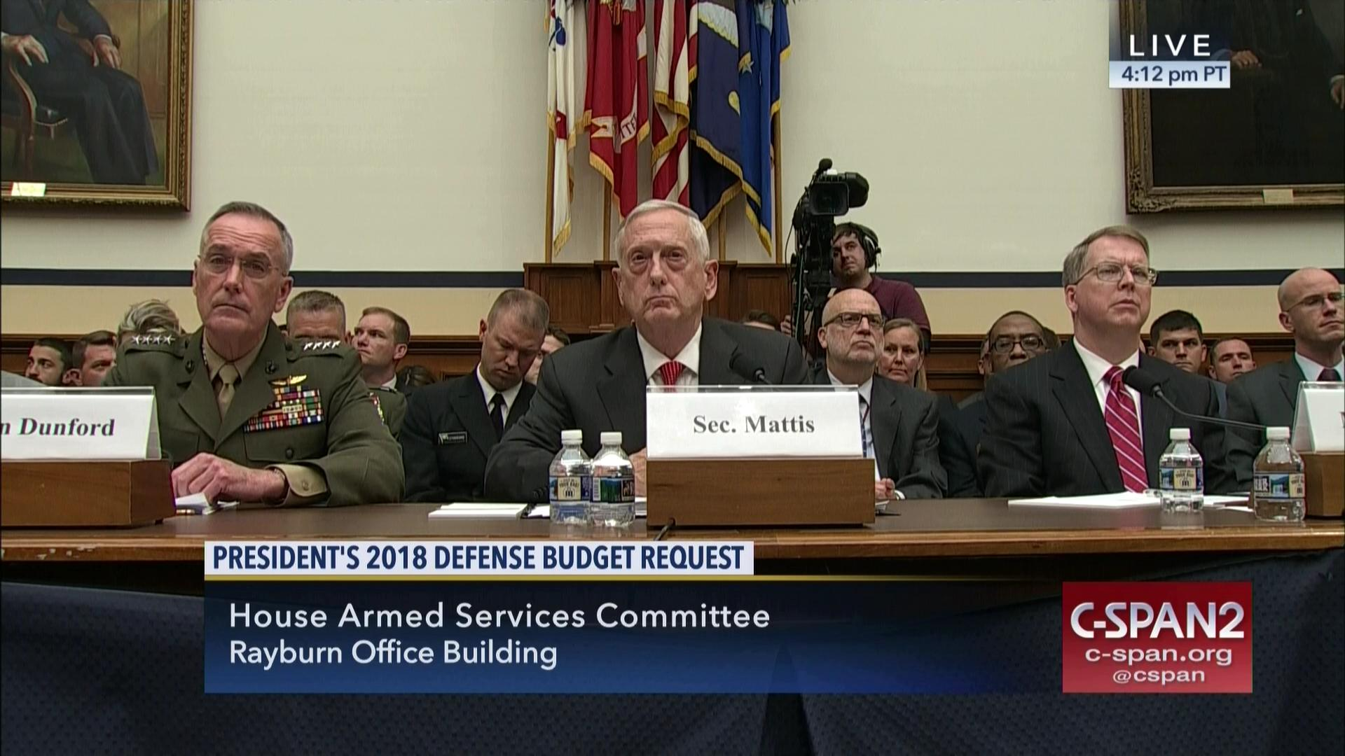 armed services committee marks defense authorization bill | c-span