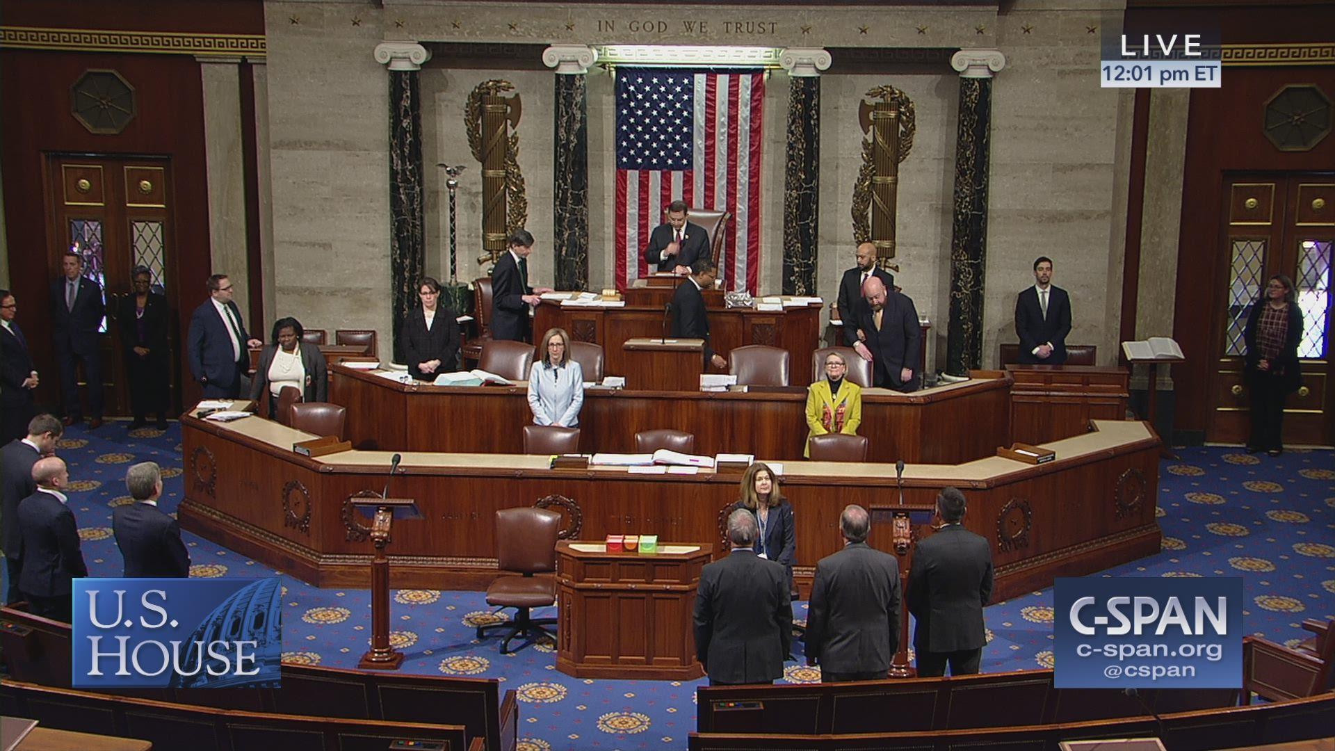 6fae54438 Watch: U.S. House Debates Resolution Blocking National Emergency Declaration