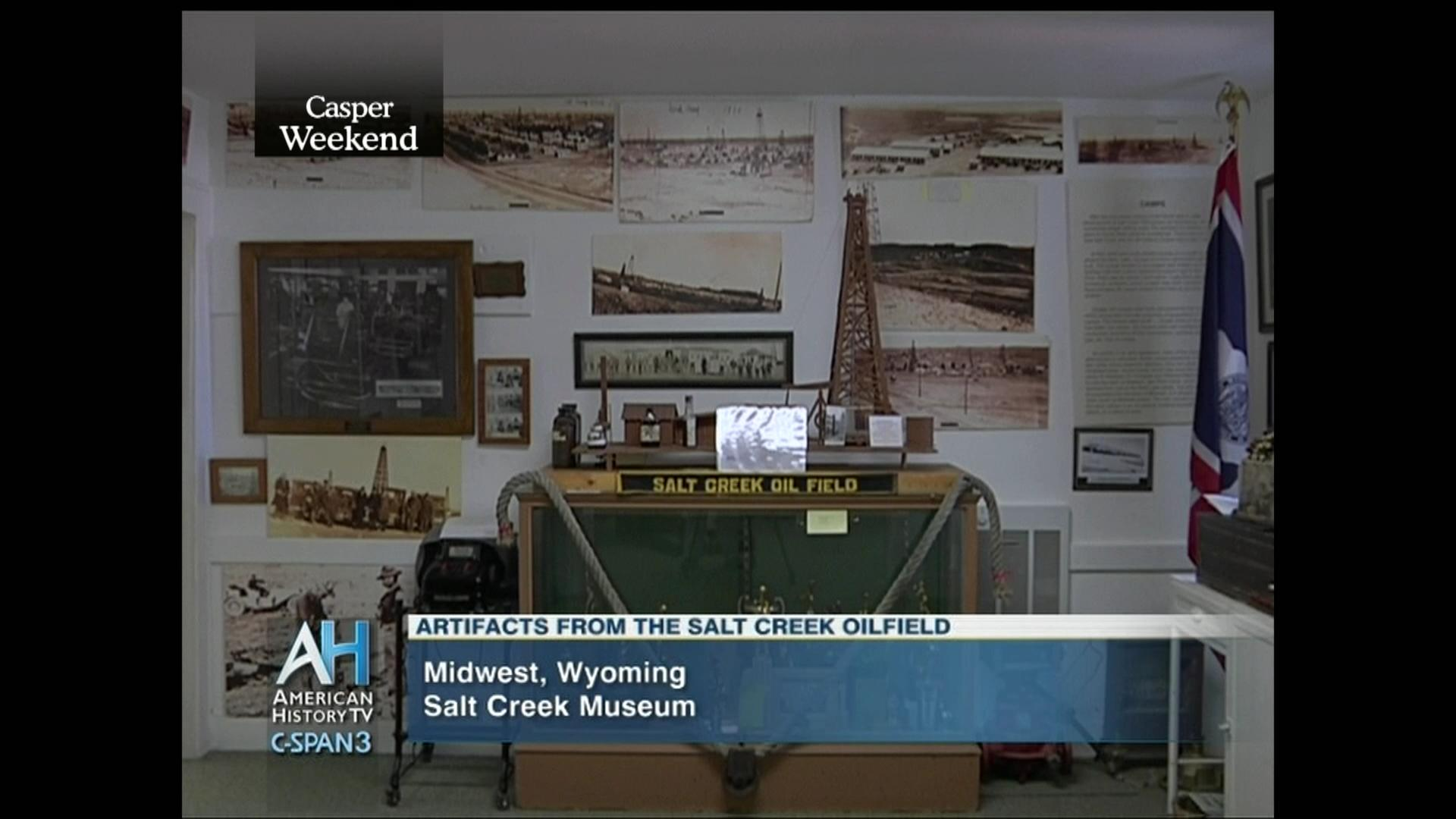 Tour Salt Creek Museum Casper Wyoming, Jul 8 2014 | Video | C SPAN.org