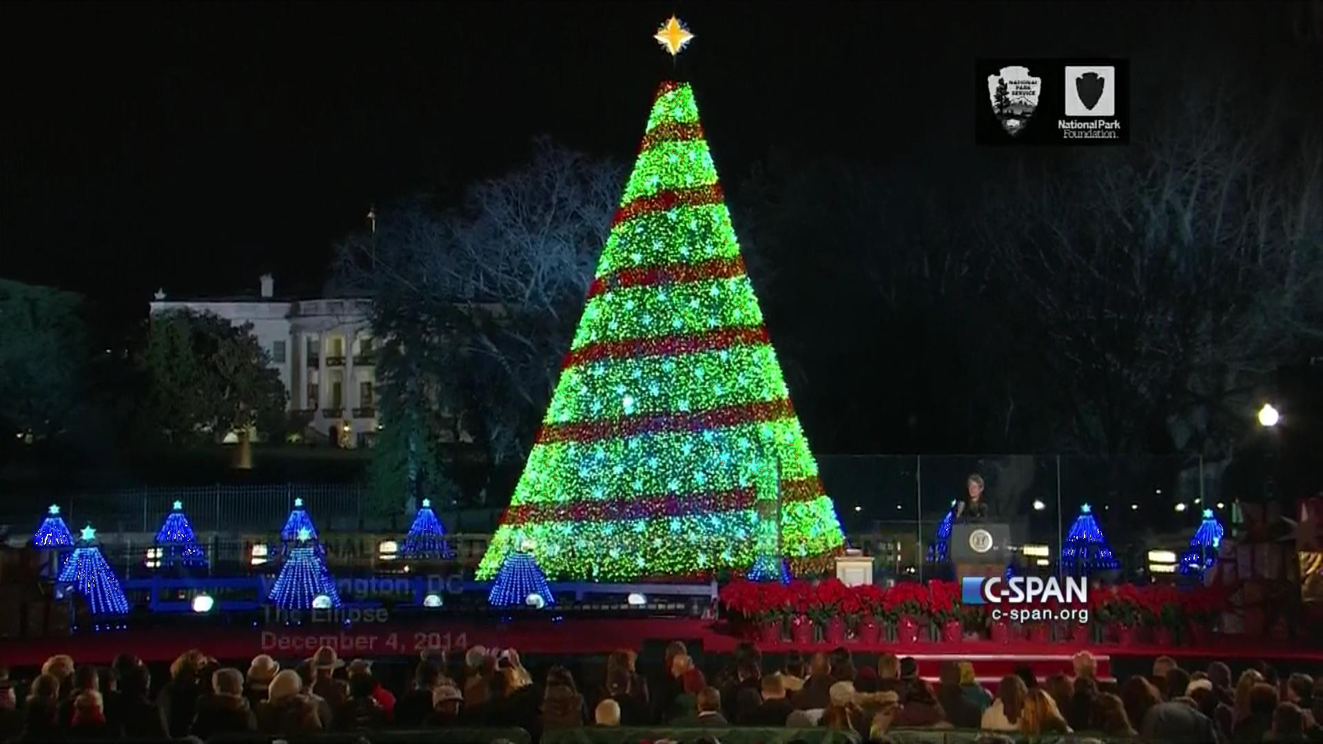 National Christmas Tree Lighting, Dec 4 2014 | Video | C-SPAN.org