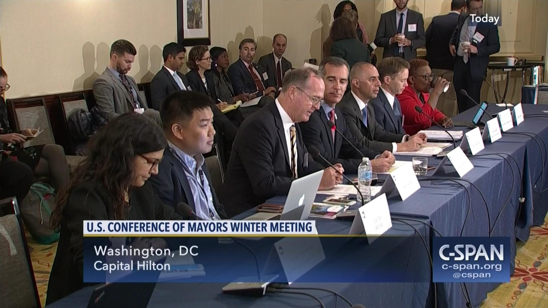 U.S. Conference of Mayors Winter Meeting, Immigration