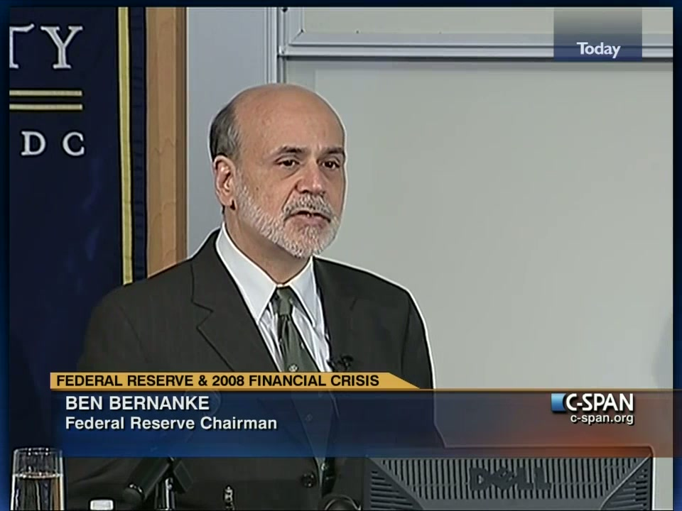 Federal Reserve and the 2008 Financial Crisis