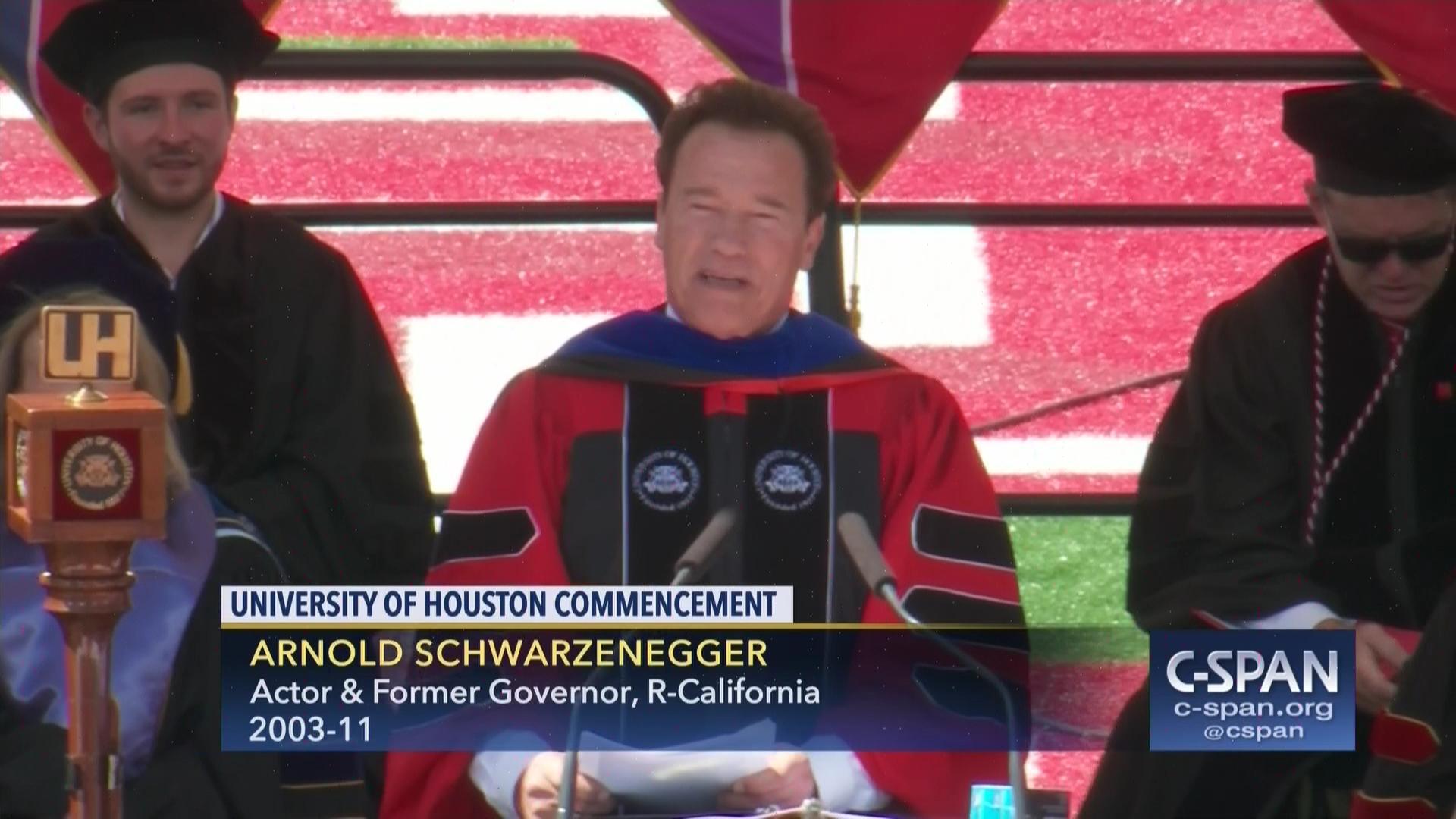 University Of Houston Commencement Address
