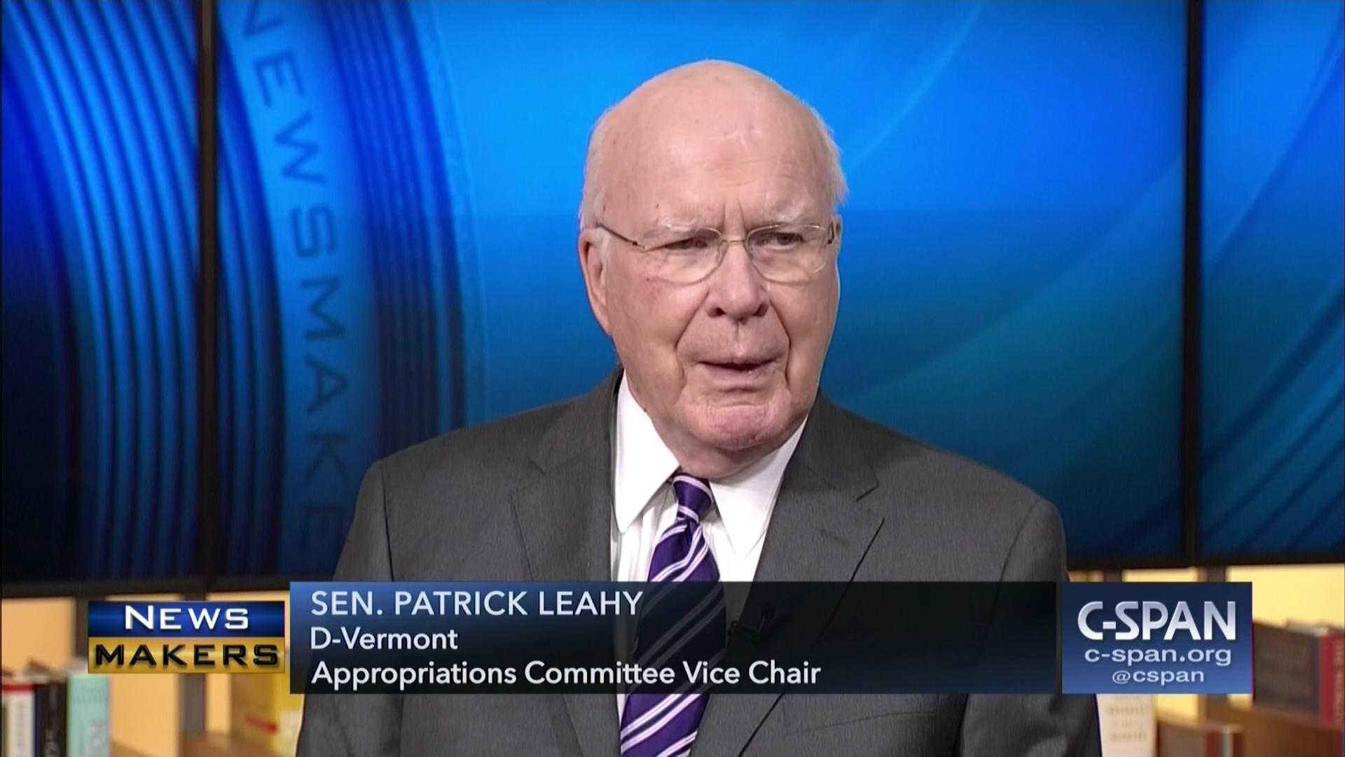 Image result for IMAGES Senator Patrick Leahy on the Senate Appropriations Committee