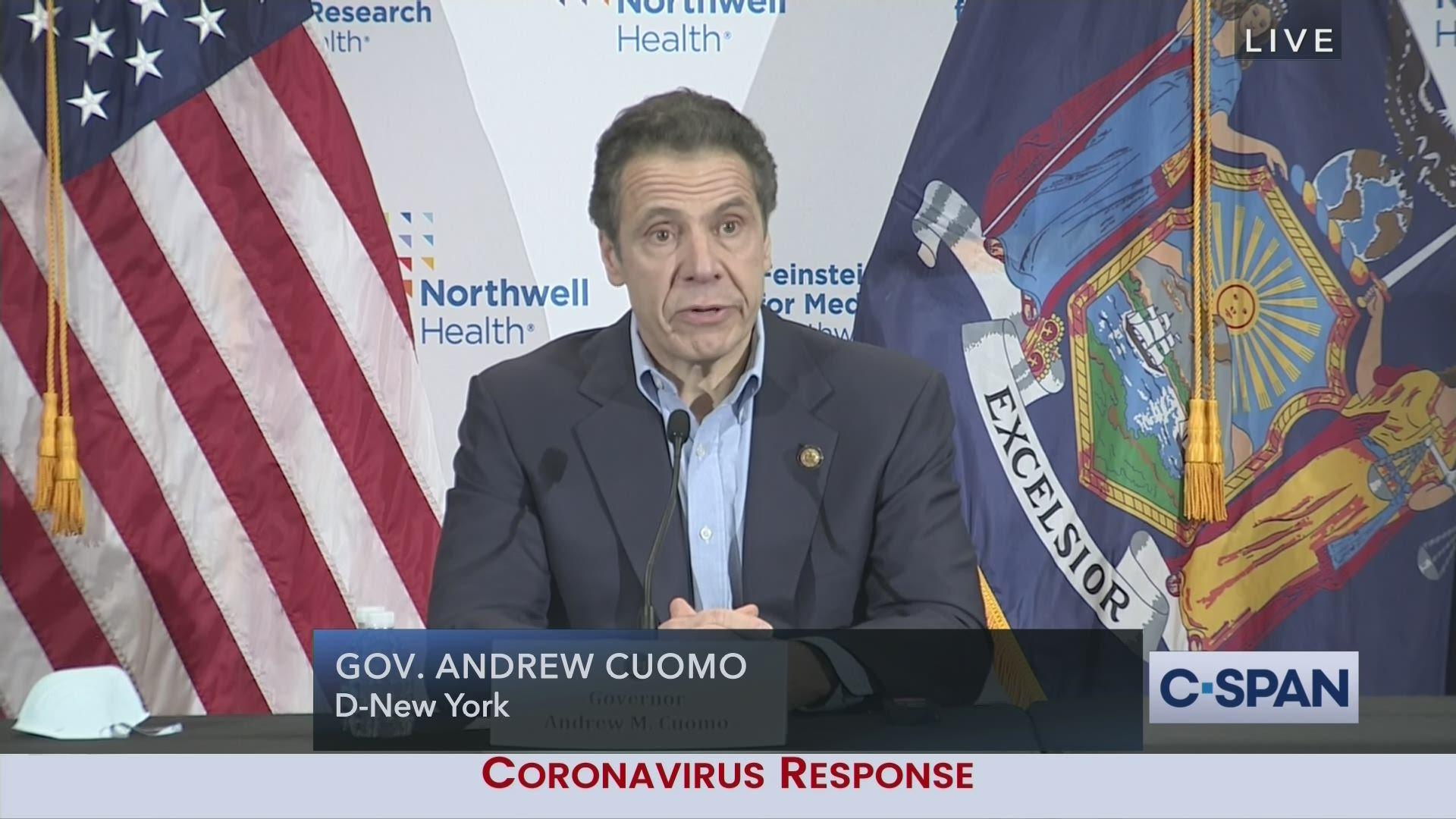 New York Governor Cuomo Coronavirus News Conference C Span Org