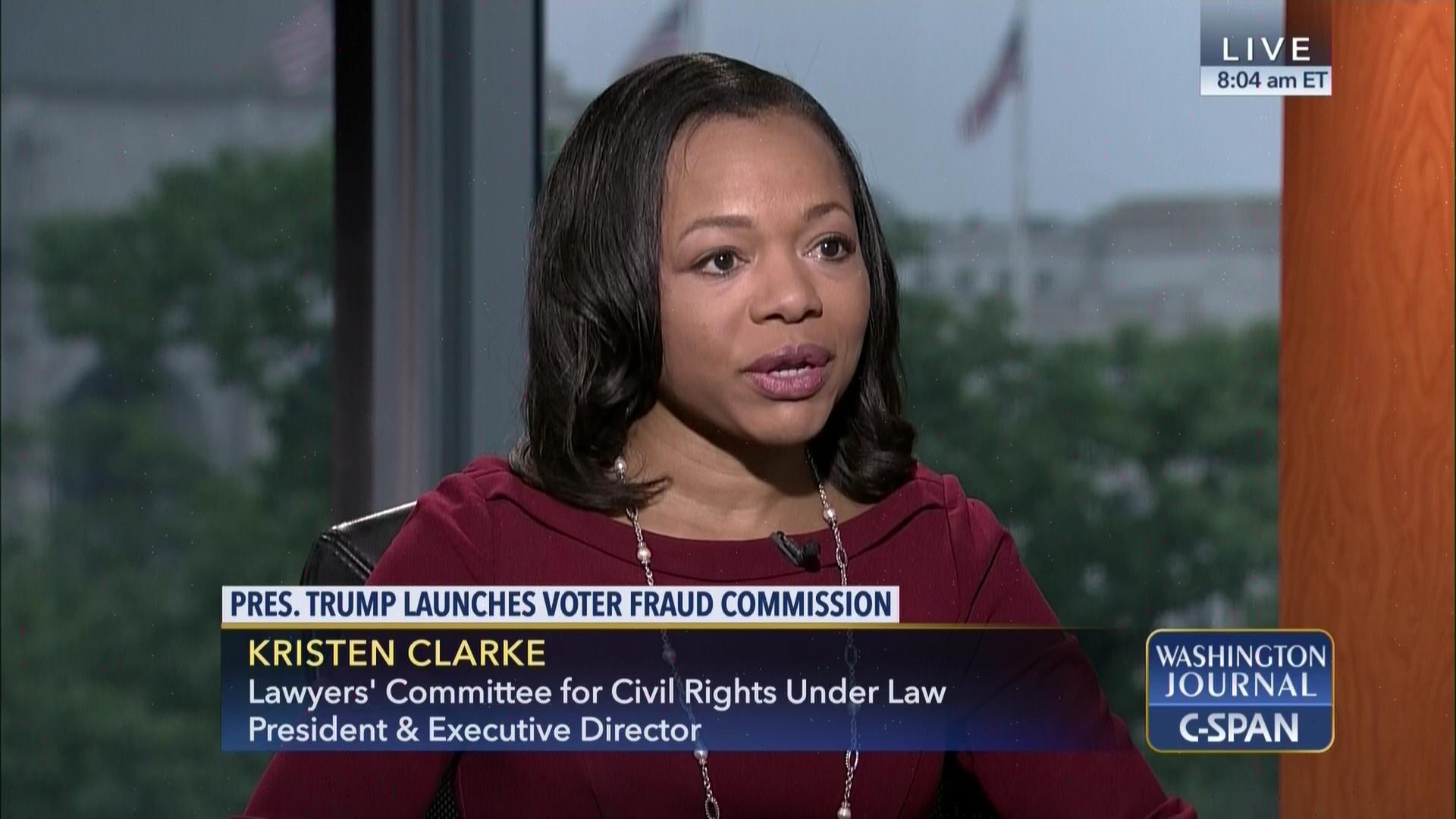 Kristen Clarke On Voter Fraud