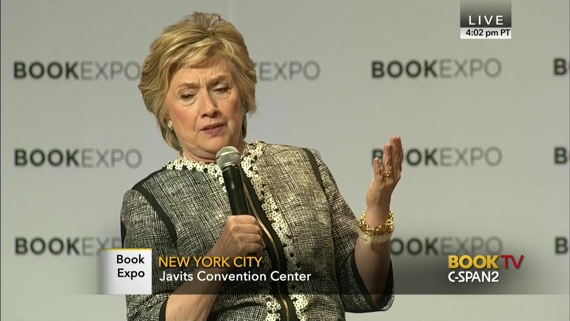 Hillary Clinton Shares Concerns Trump Presidency Vows Support C - Hillarys stage us map