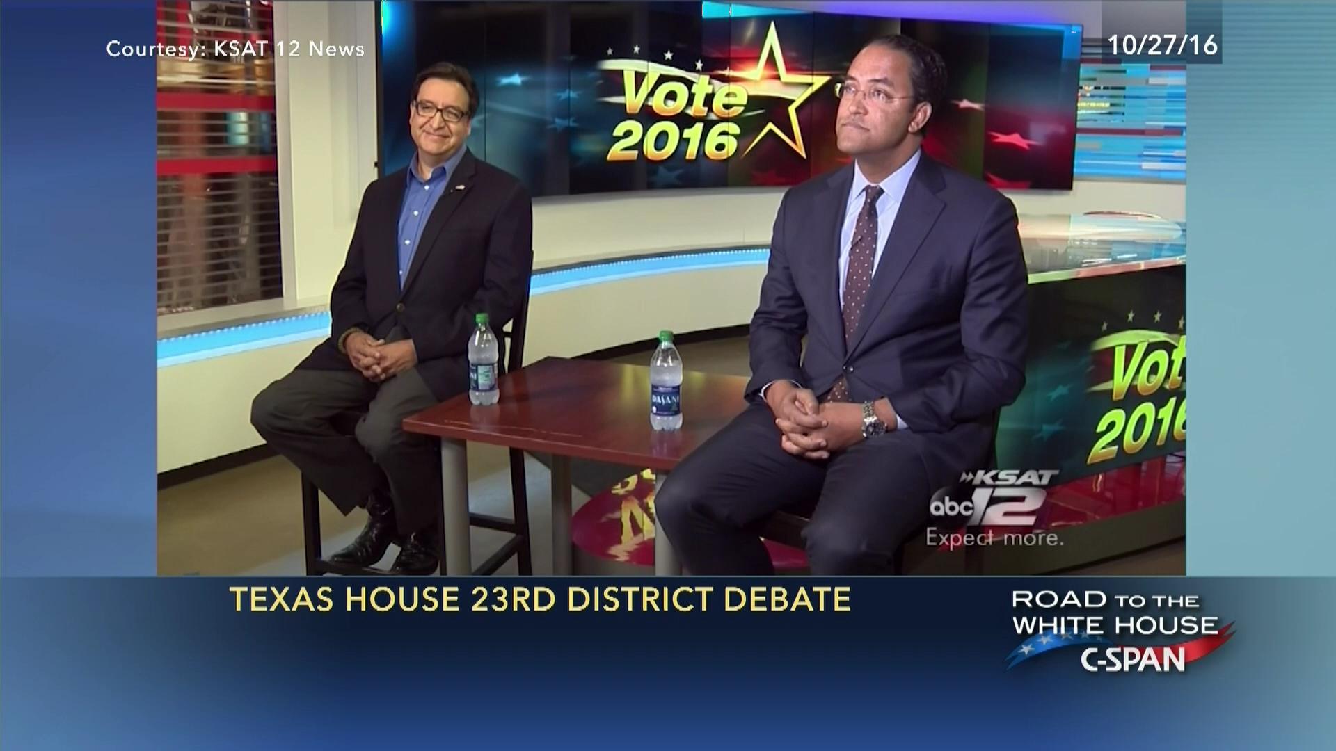 Texas 23rd Congressional Distict Debate
