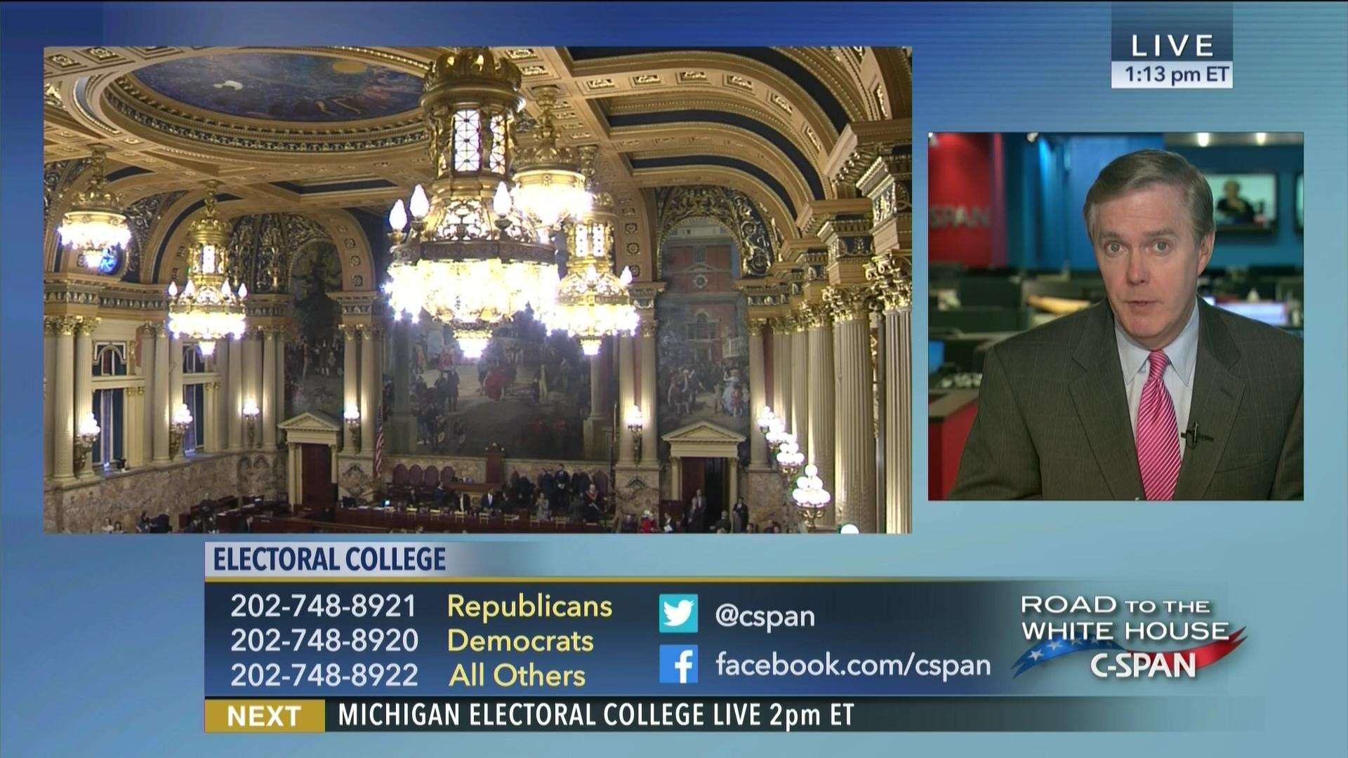 Electoral College Voting | C-SPAN.org