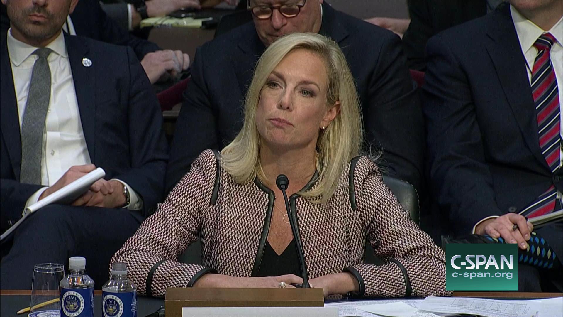 Sen Cory Booker Blasts Homeland Security Secretary Kirstjen Nielsen