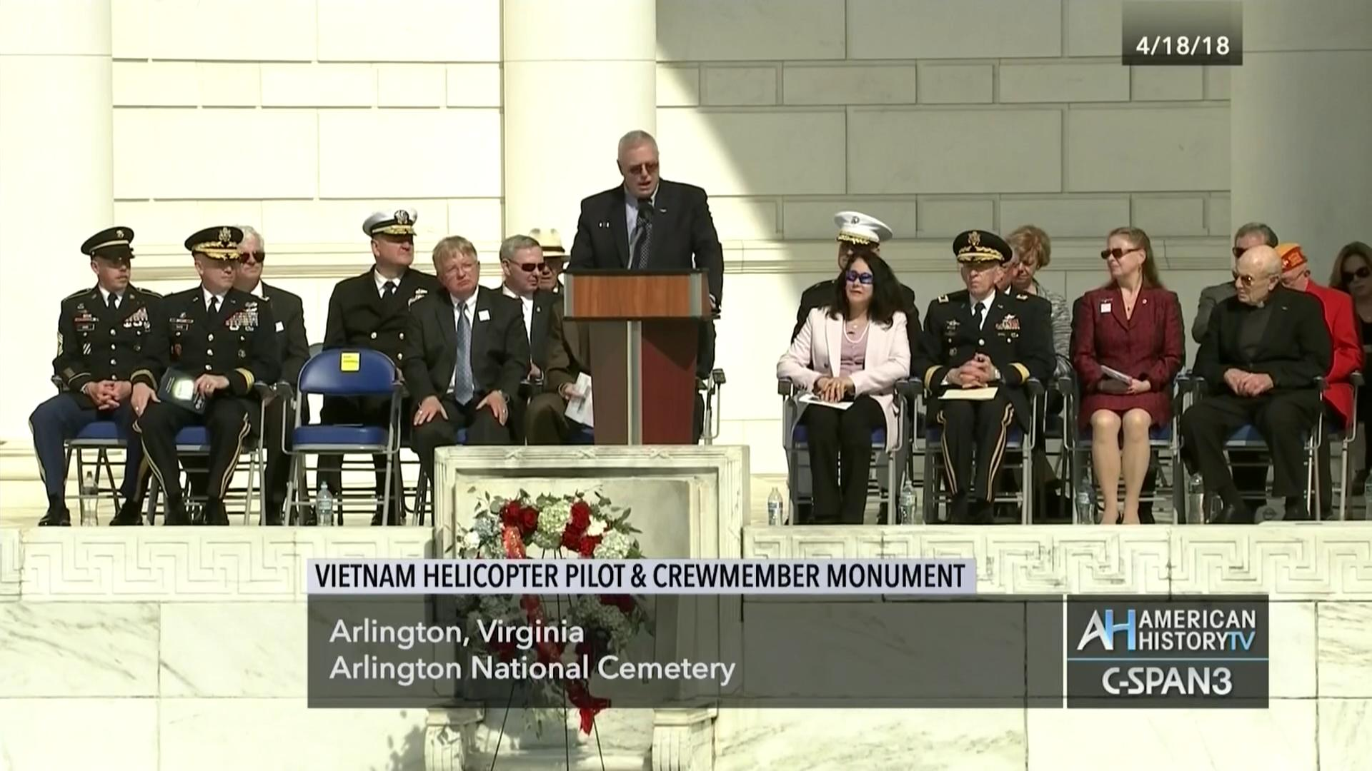 Vietnam Helicopter Pilot and Crewmember Monument Dedication