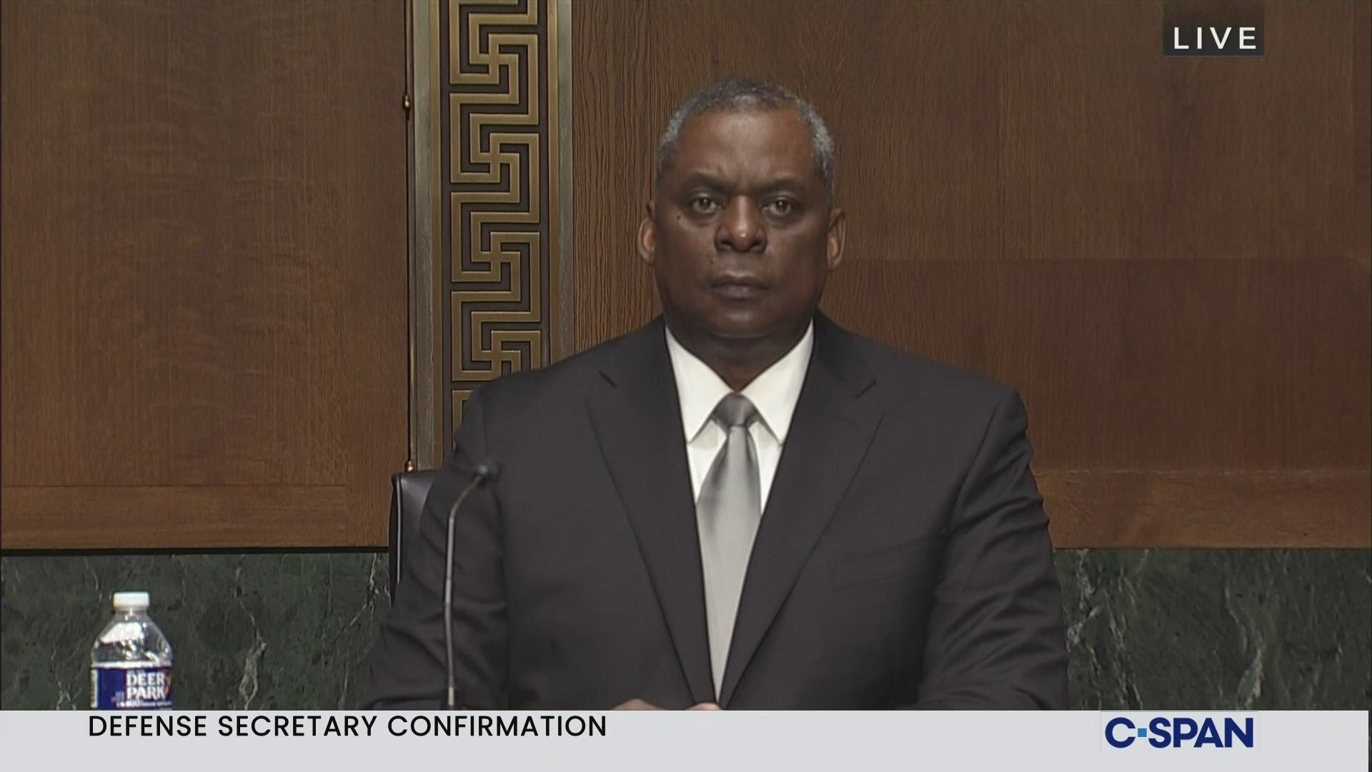 Defense Secretary Confirmation Hearing C Span Org