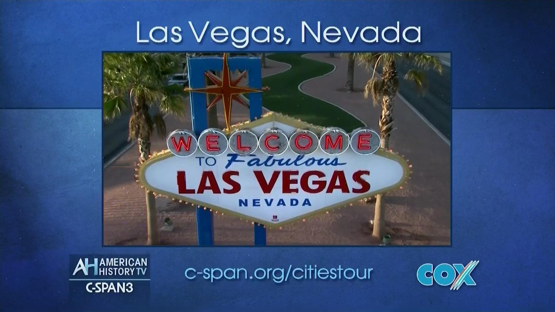 American History TV Las Vegas Nevada Jun 5 2016 Video