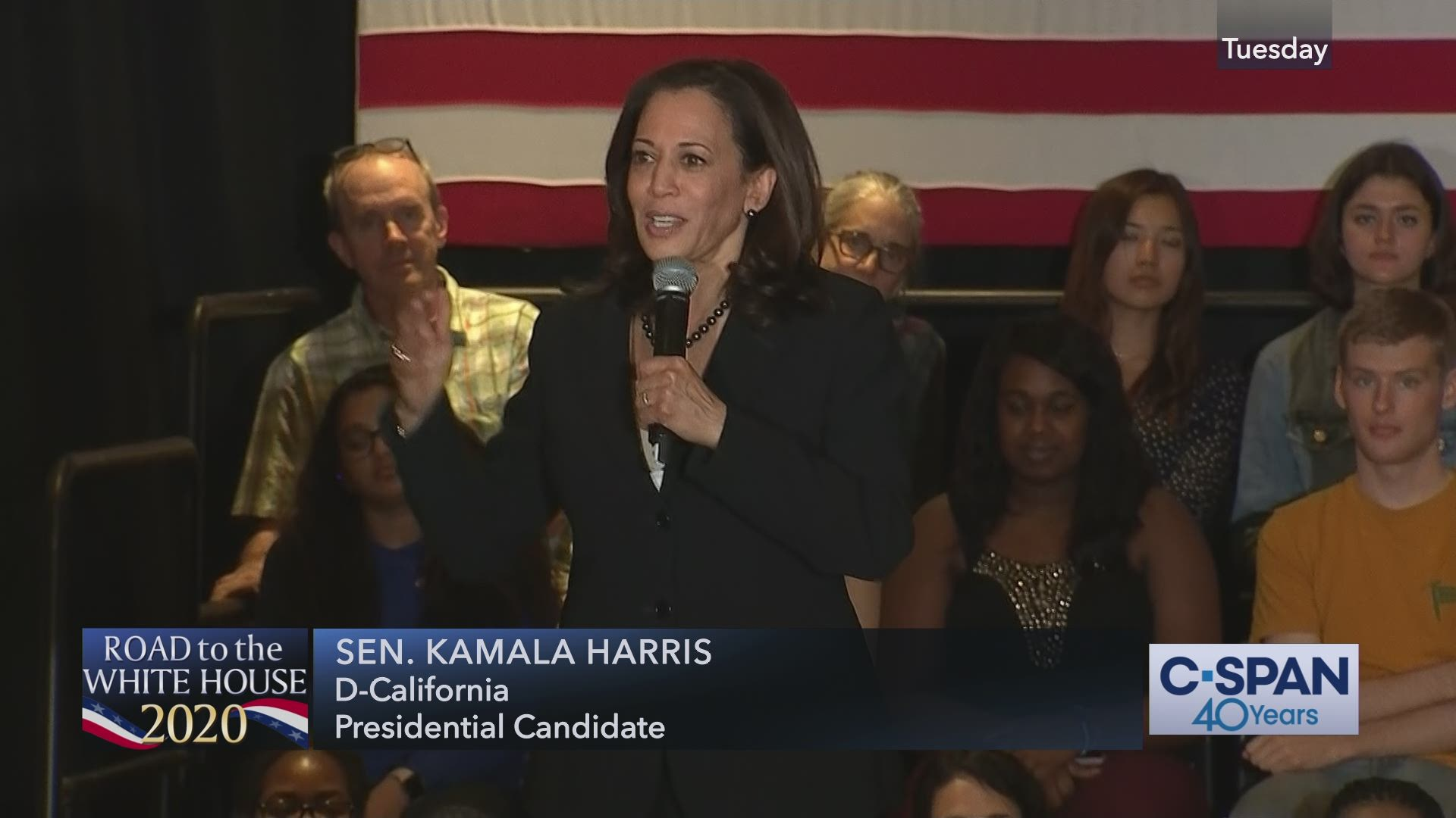 Senator Kamala Harris Town Hall in Hanover, New Hampshire