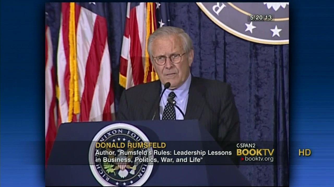 rumsfeld s rules rumsfeld donald