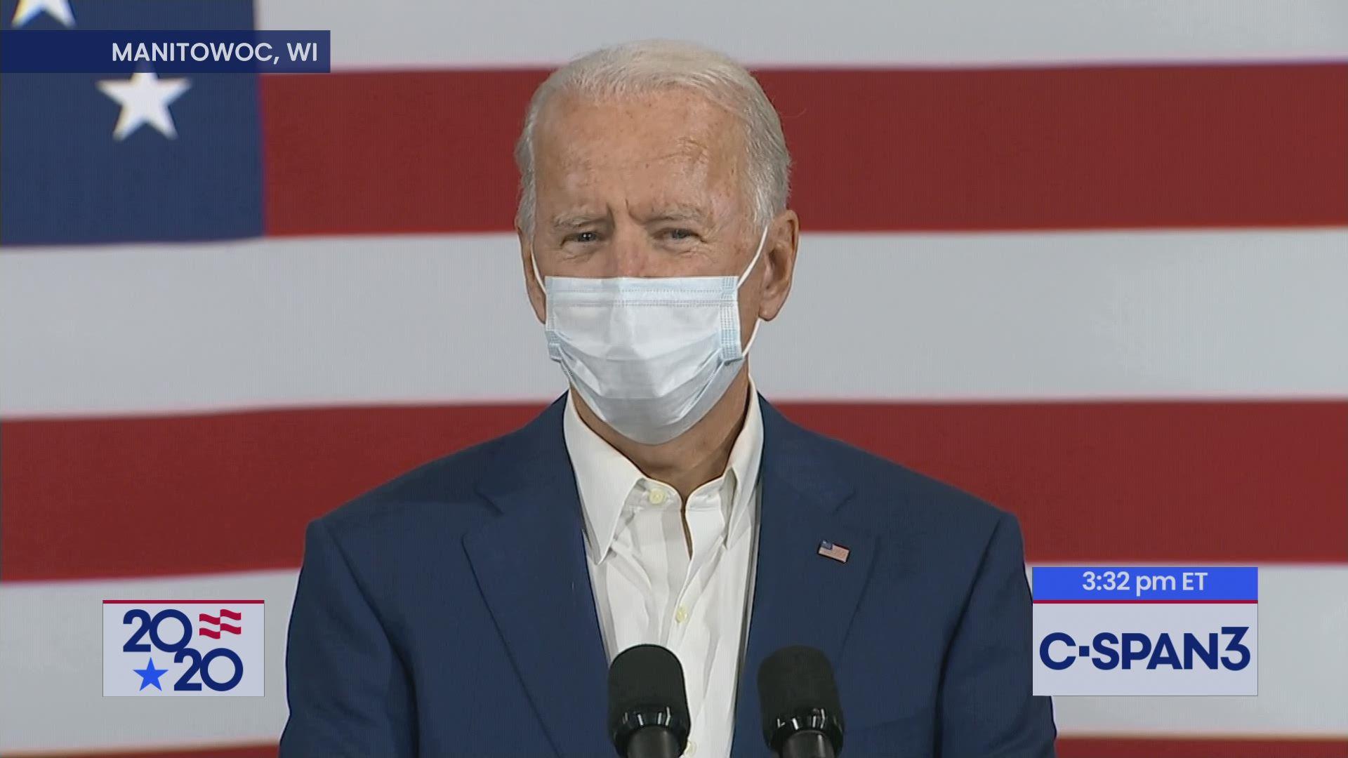 Joe Biden Campaign Remarks In Wisconsin C Span Org