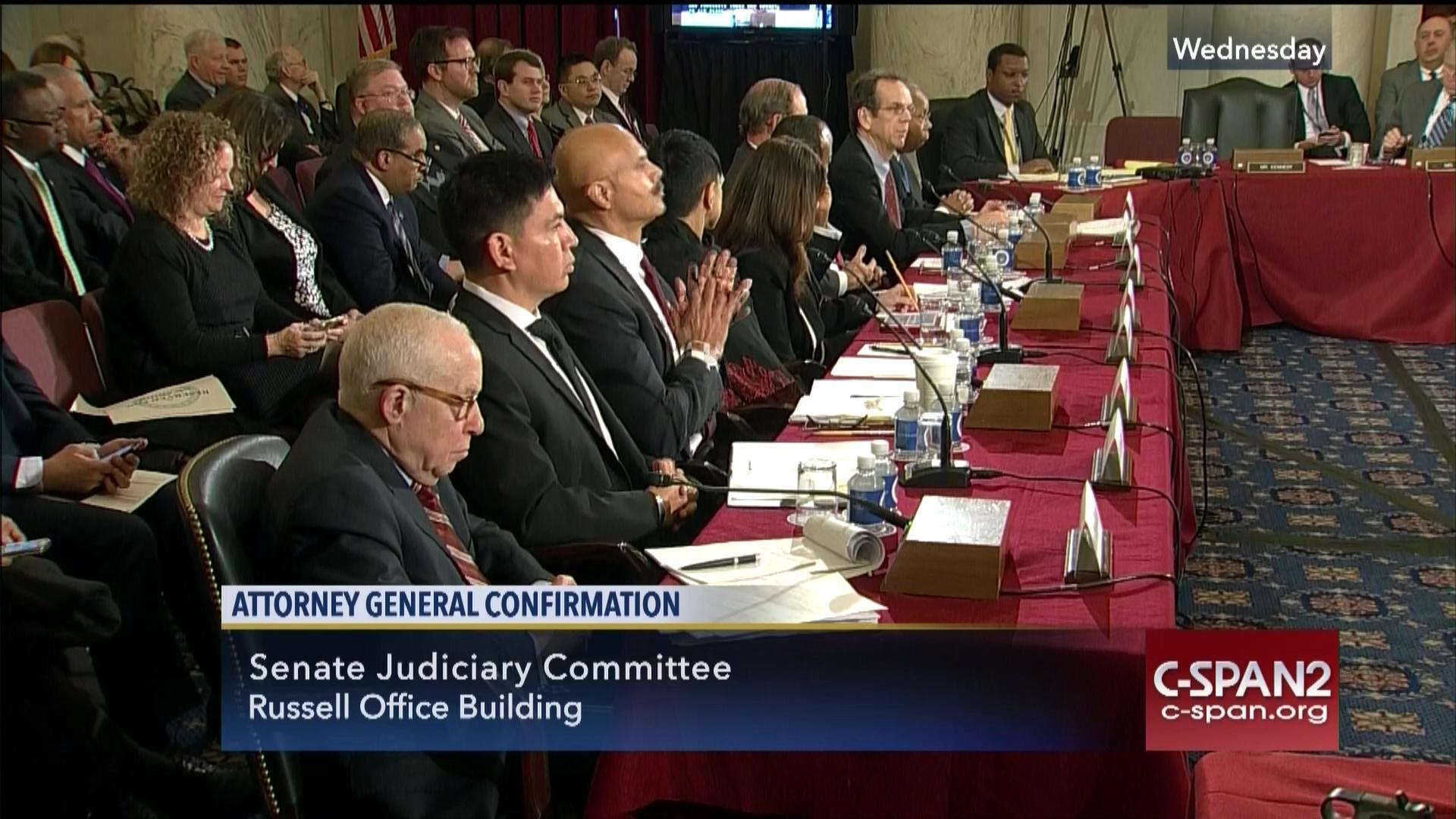 cory booker john lewis testify jeff sessions ag nomination jan 11 2017 - Attorney General Job Description