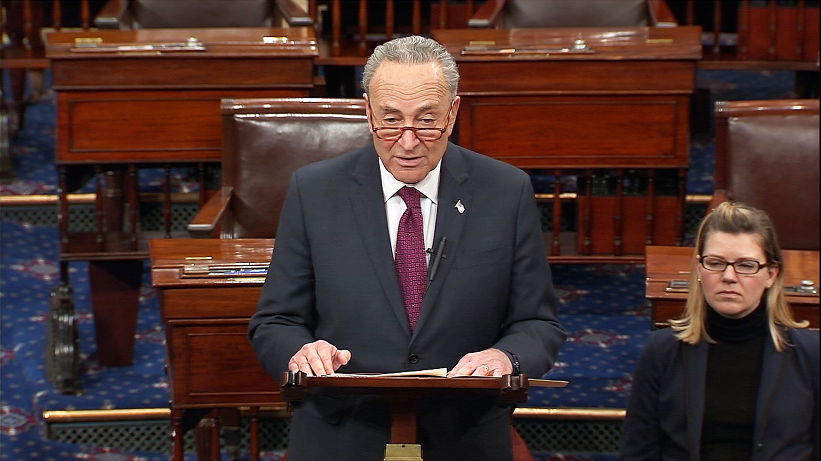 Senator Schumer: President's Proposal to End Shutdown Is Going Nowhere