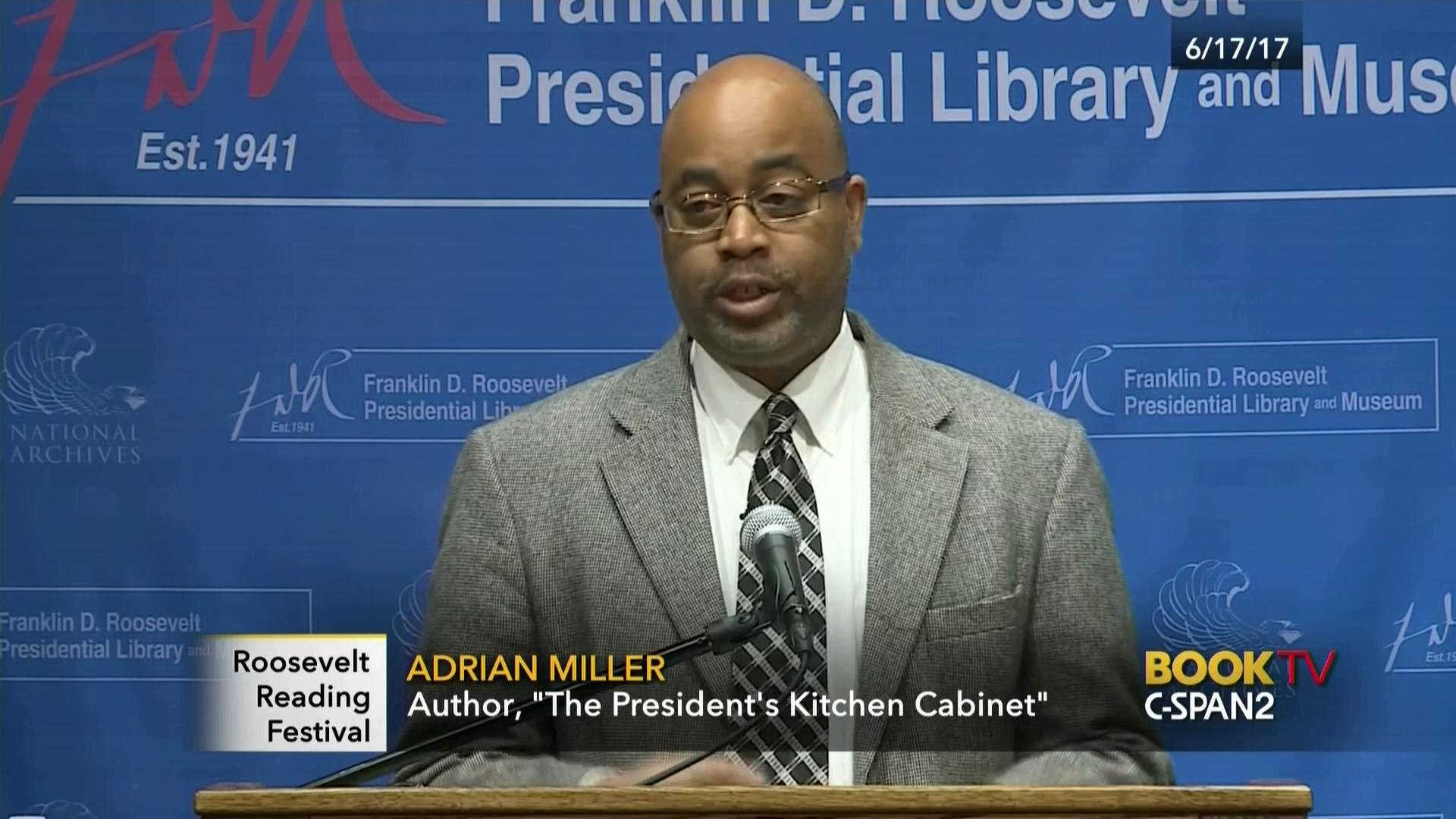 President's Kitchen Cabinet, Jun 17 2017 | Video | C-SPAN.org