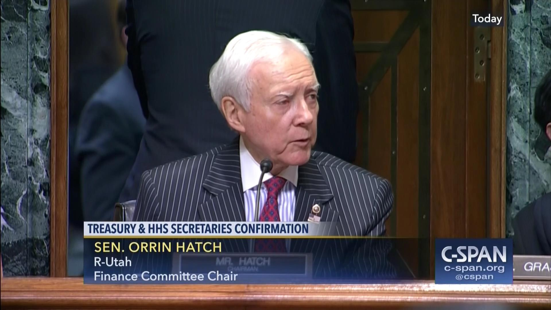 senate finance committee considers commerce hhs nominations | c